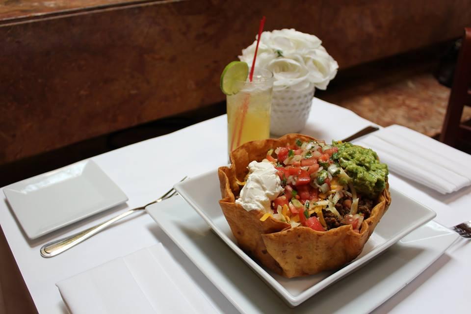 The Trump Grill taco bowl.