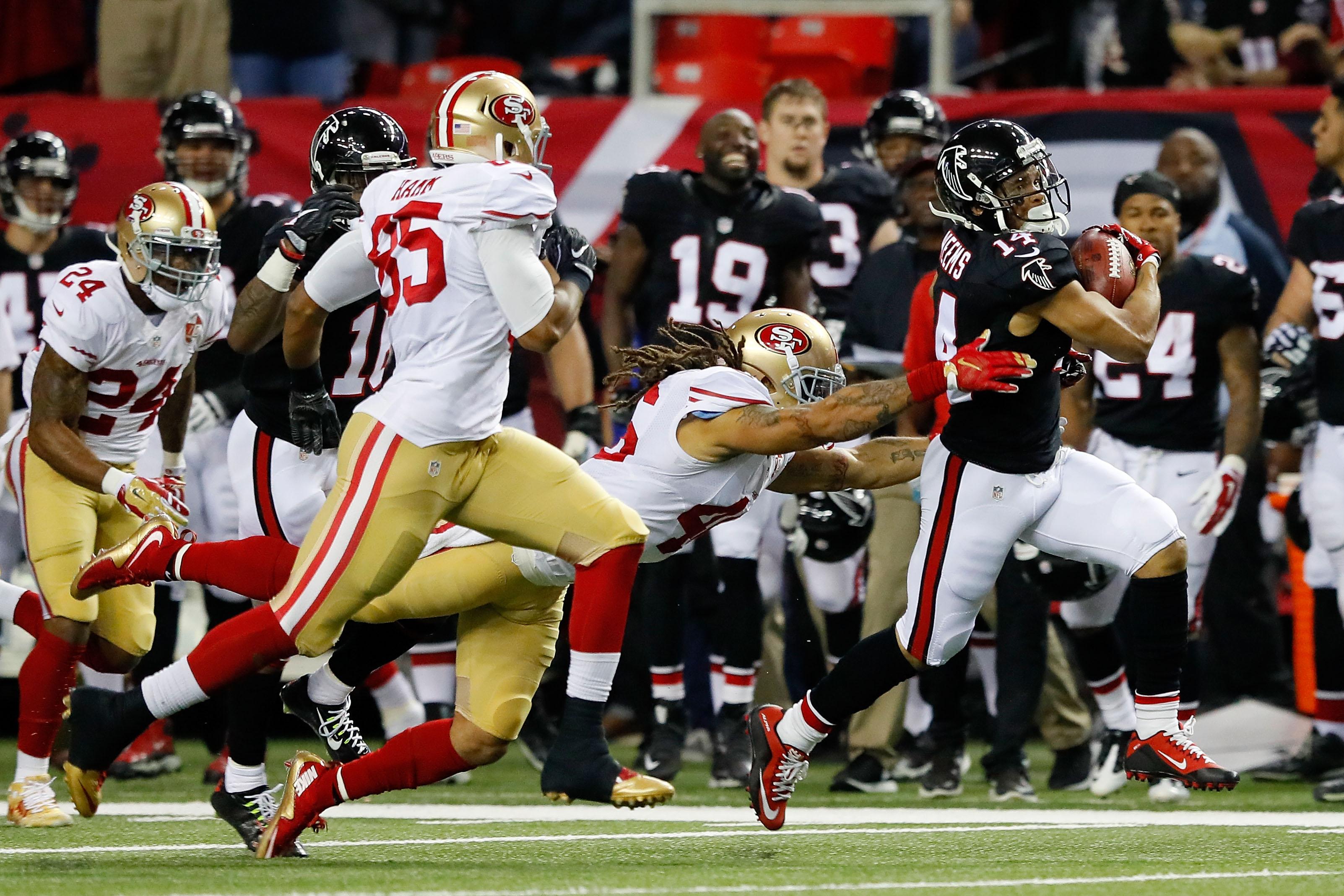 San Francisco 49ers v Atlanta Falcons