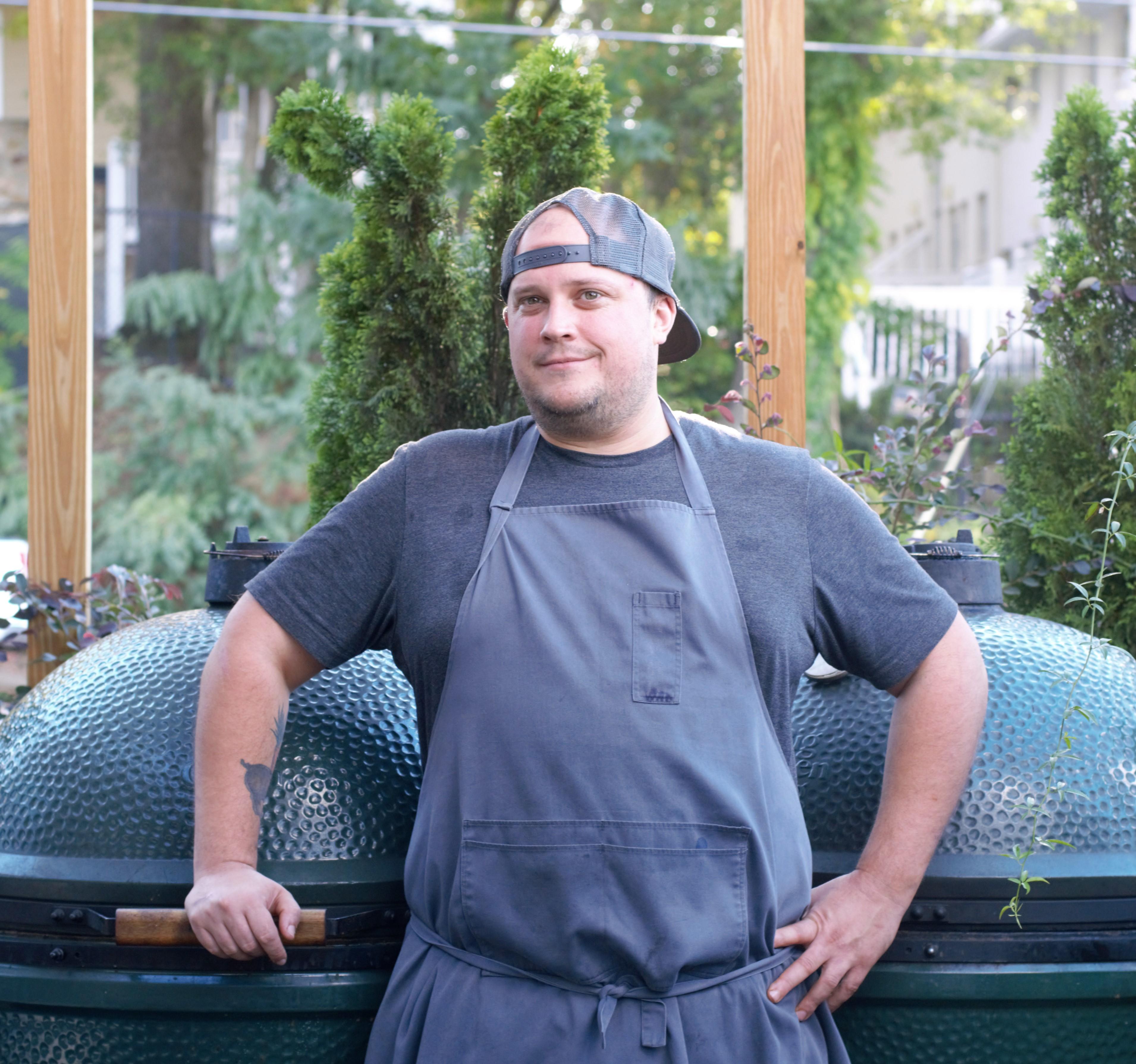 Chef Nick Melvin.