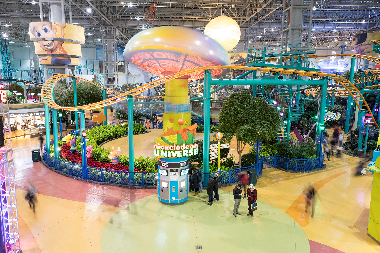 Nickelodeon Universe inside Mall of America