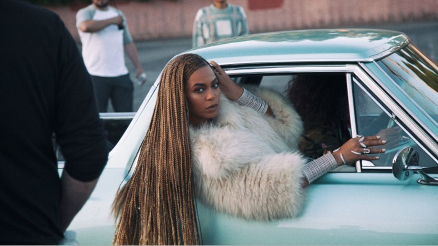 """Beyonce in the video for """"Formation"""""""