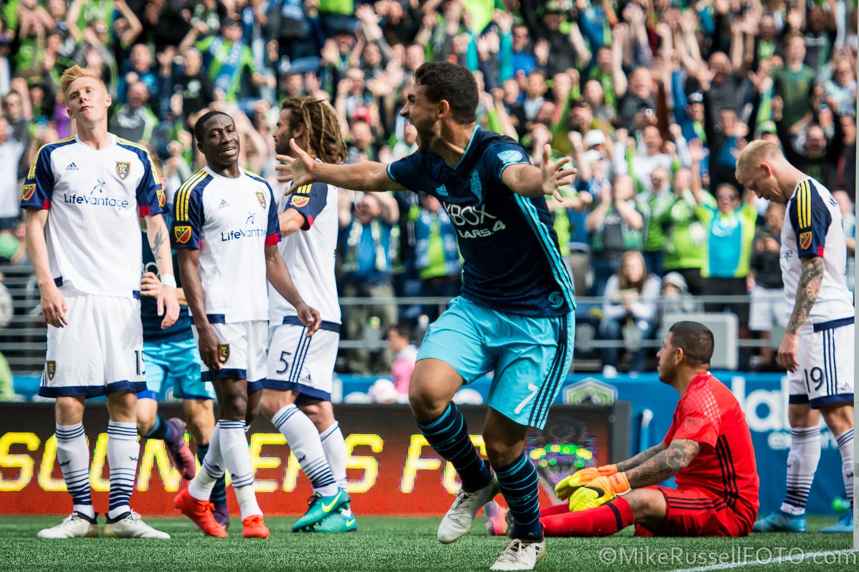 Seattle Sounders vs. Real Salt Lake: Photos