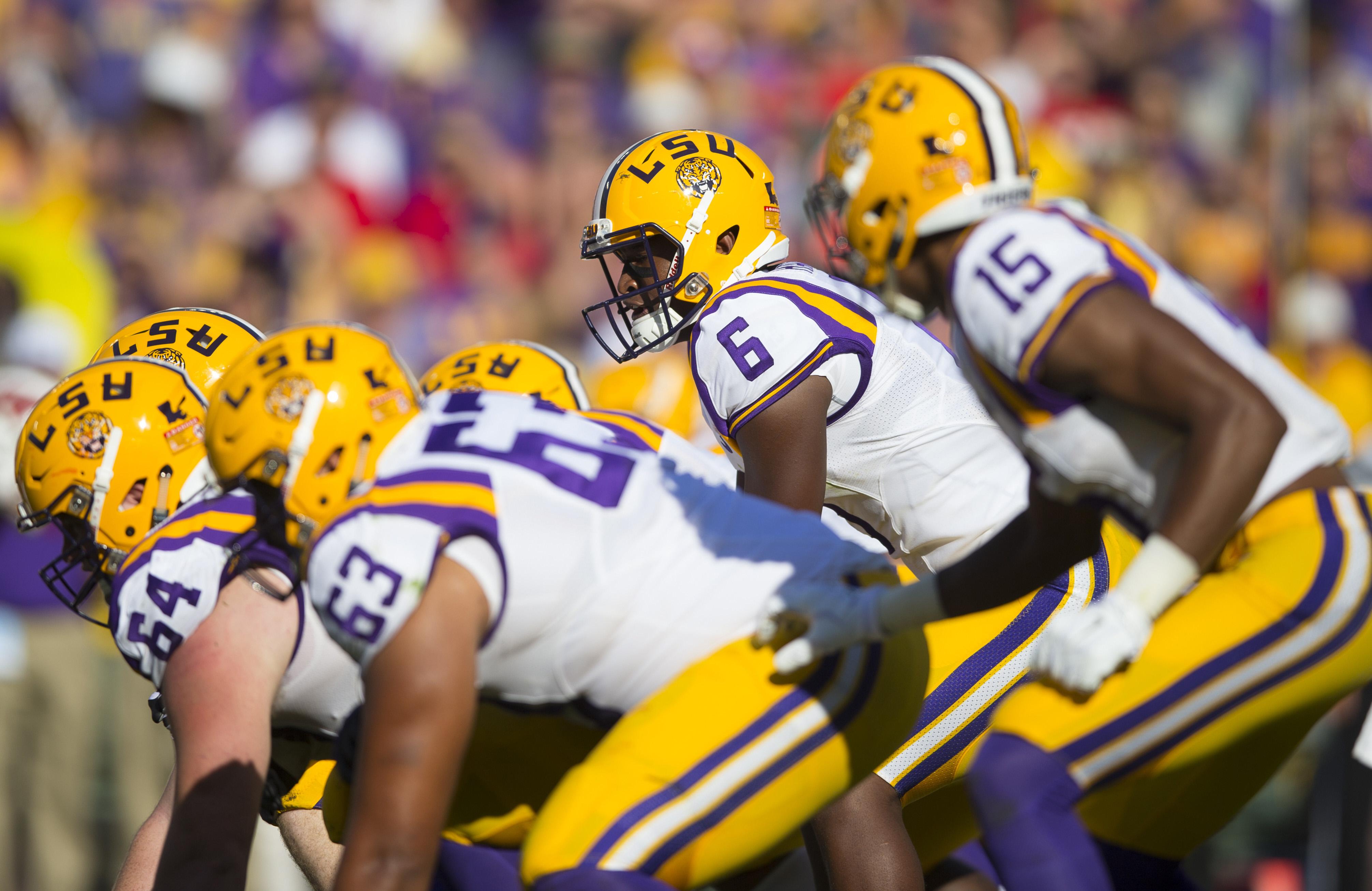 NCAA Football: Lambeau Field College Classic-Louisiana State vs Wisconsin