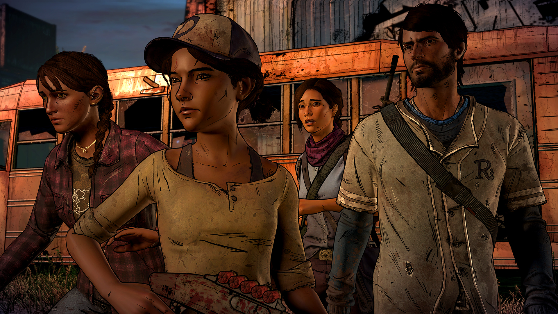 The Walking Dead game has a new lead, but it's as stressful