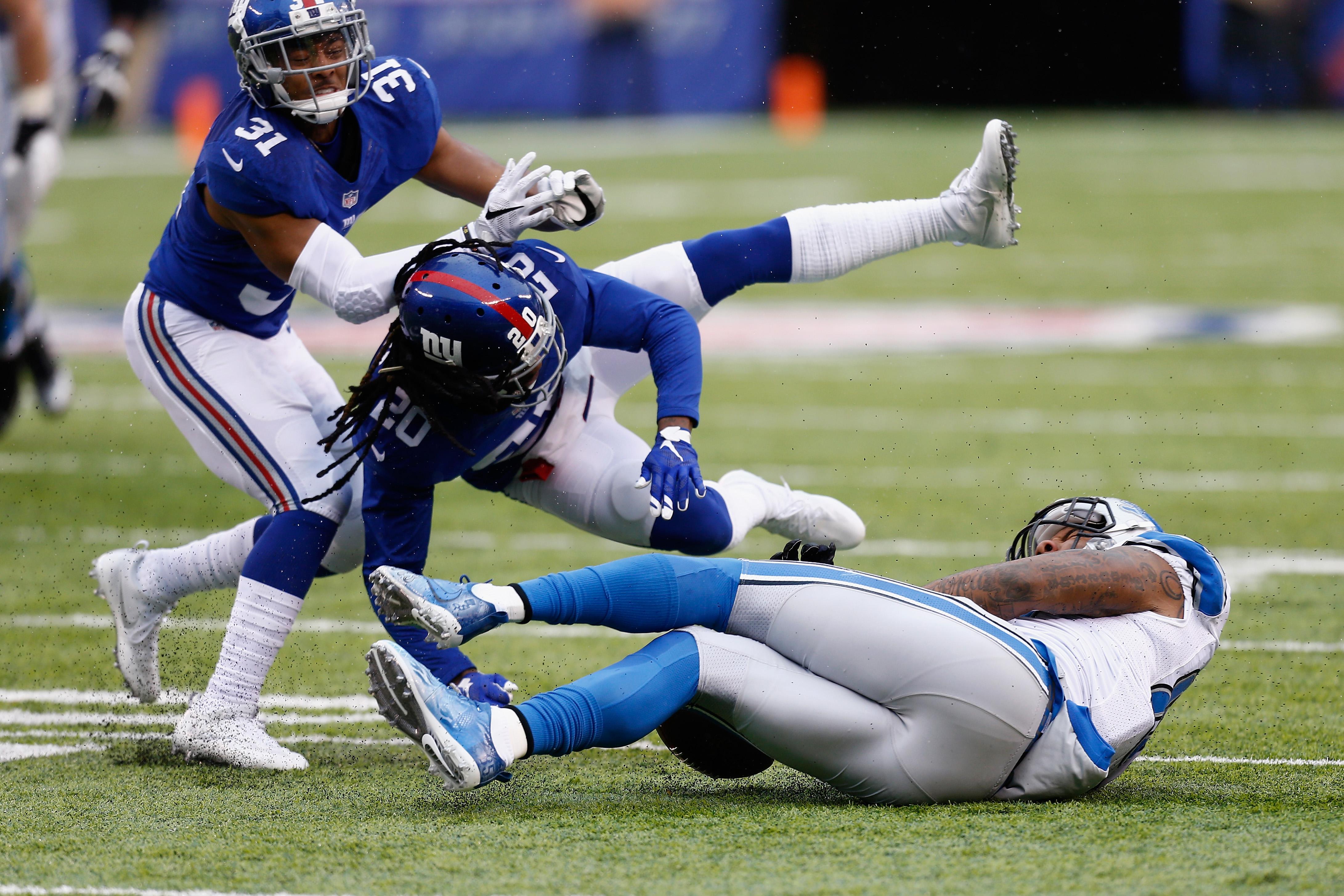 Detroit Lions v New York Giants