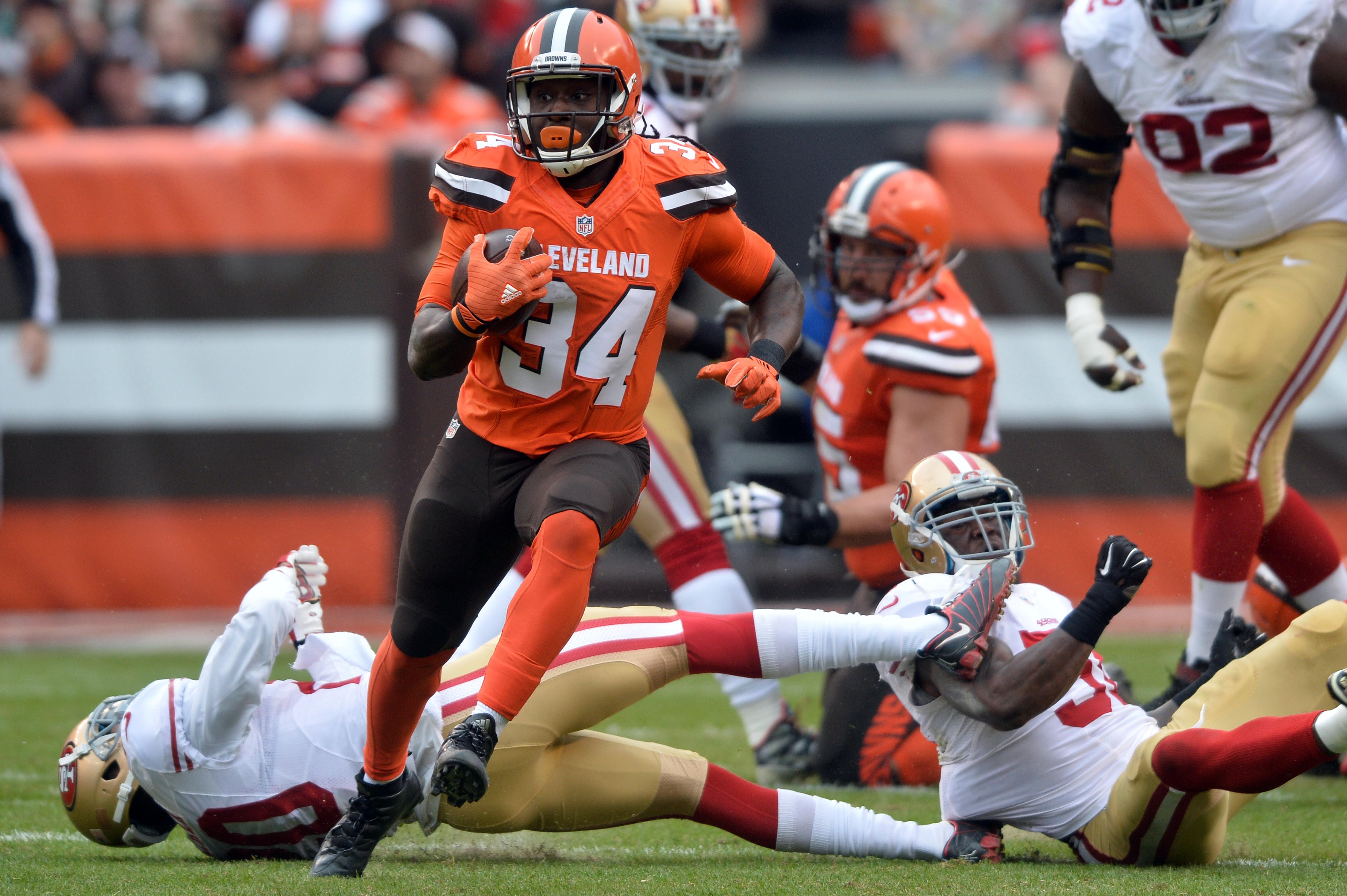 NFL: San Francisco 49ers at Cleveland Browns