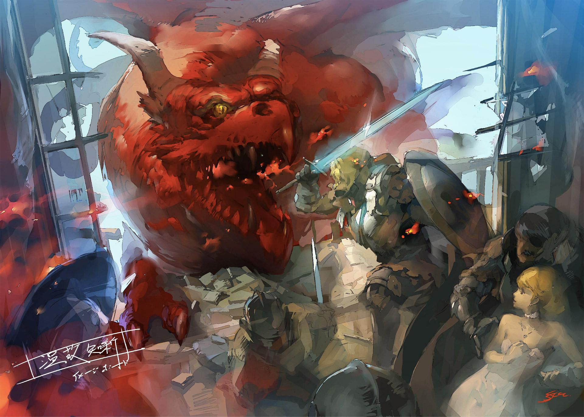 Atlus reveals more details on Persona creators' new fantasy RPG