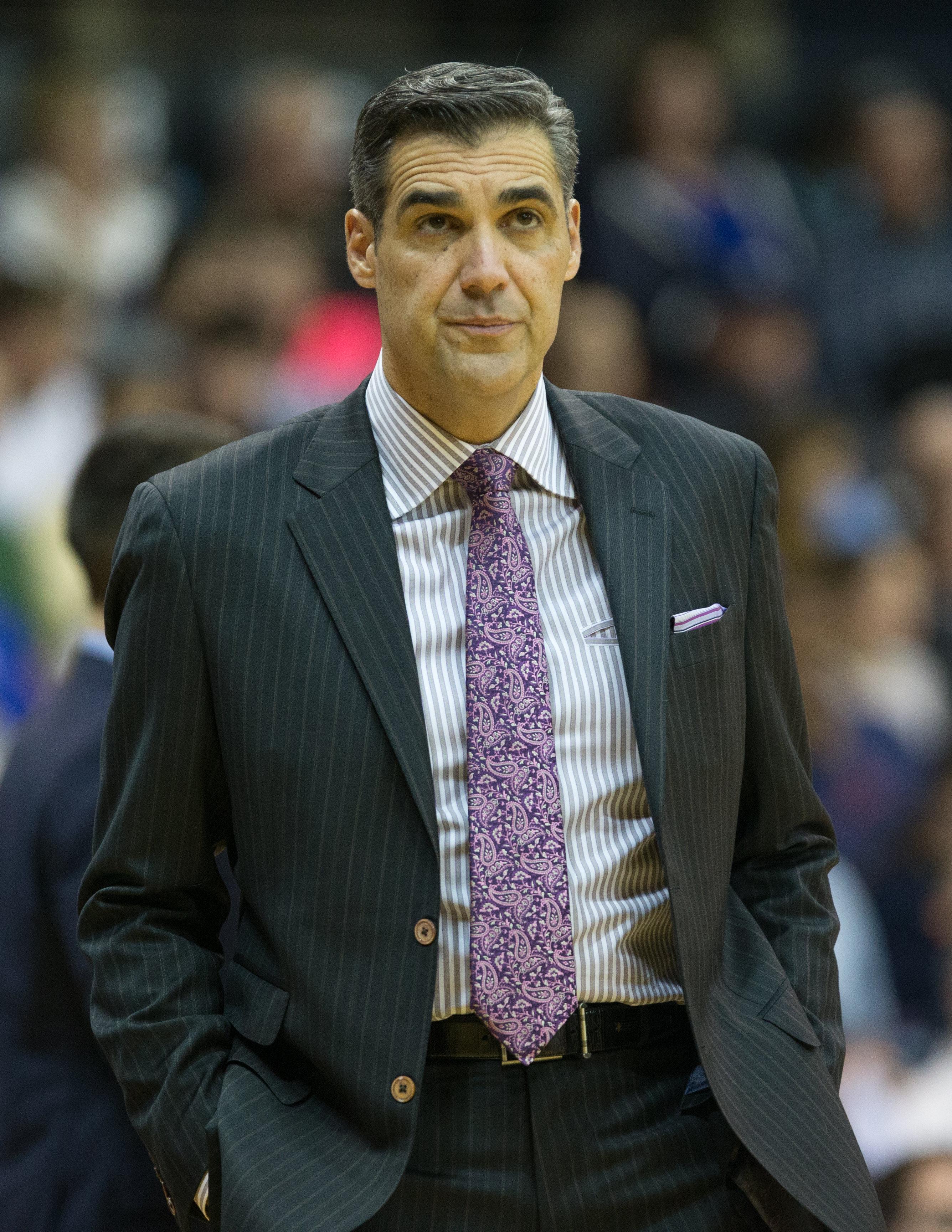 NCAA Basketball: American U. at Villanova