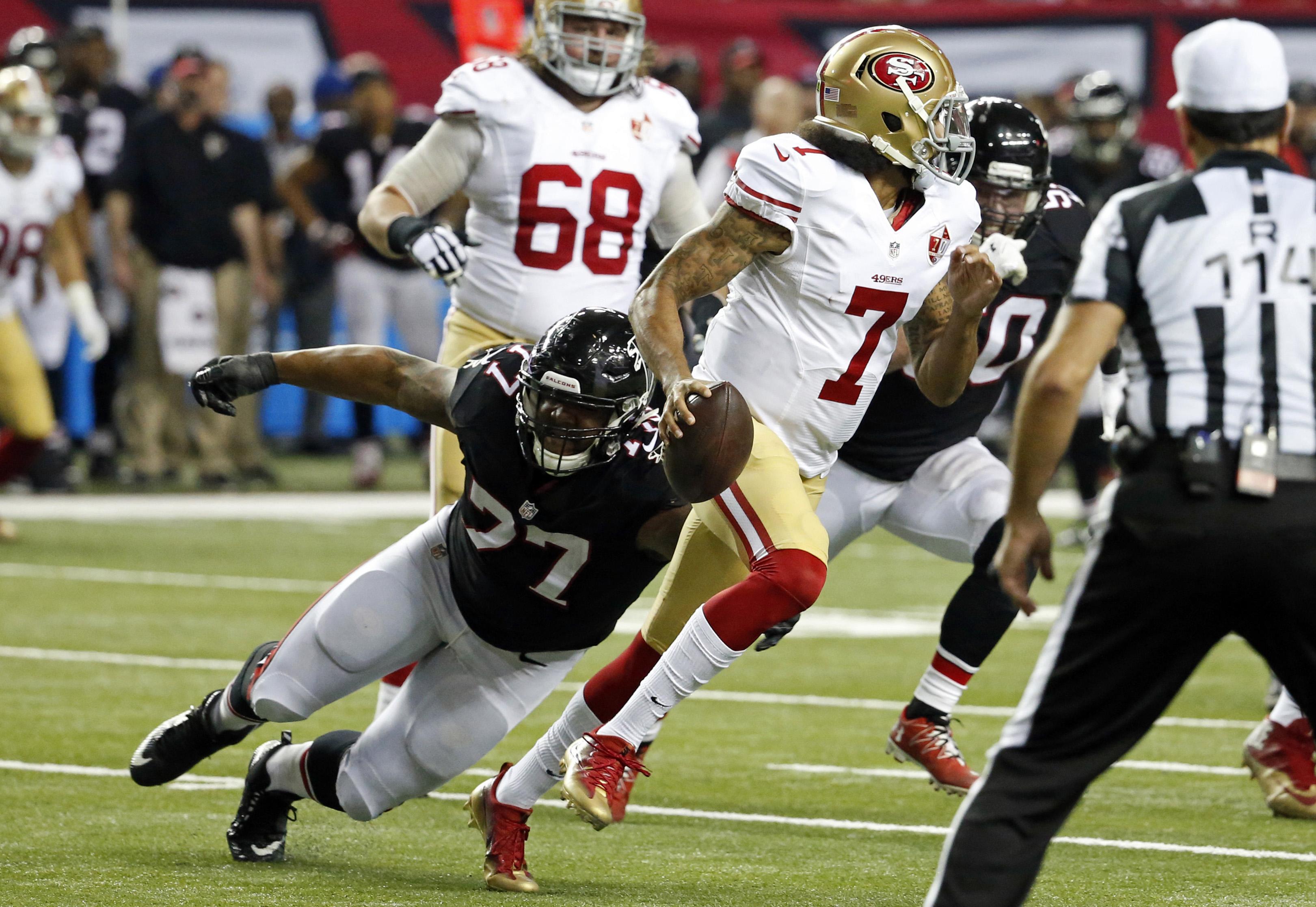 NFL: San Francisco 49ers at Atlanta Falcons