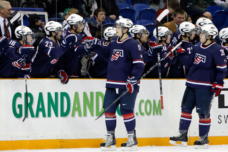 IIHF World Junior Championship - Semifinals -  Sweden v USA