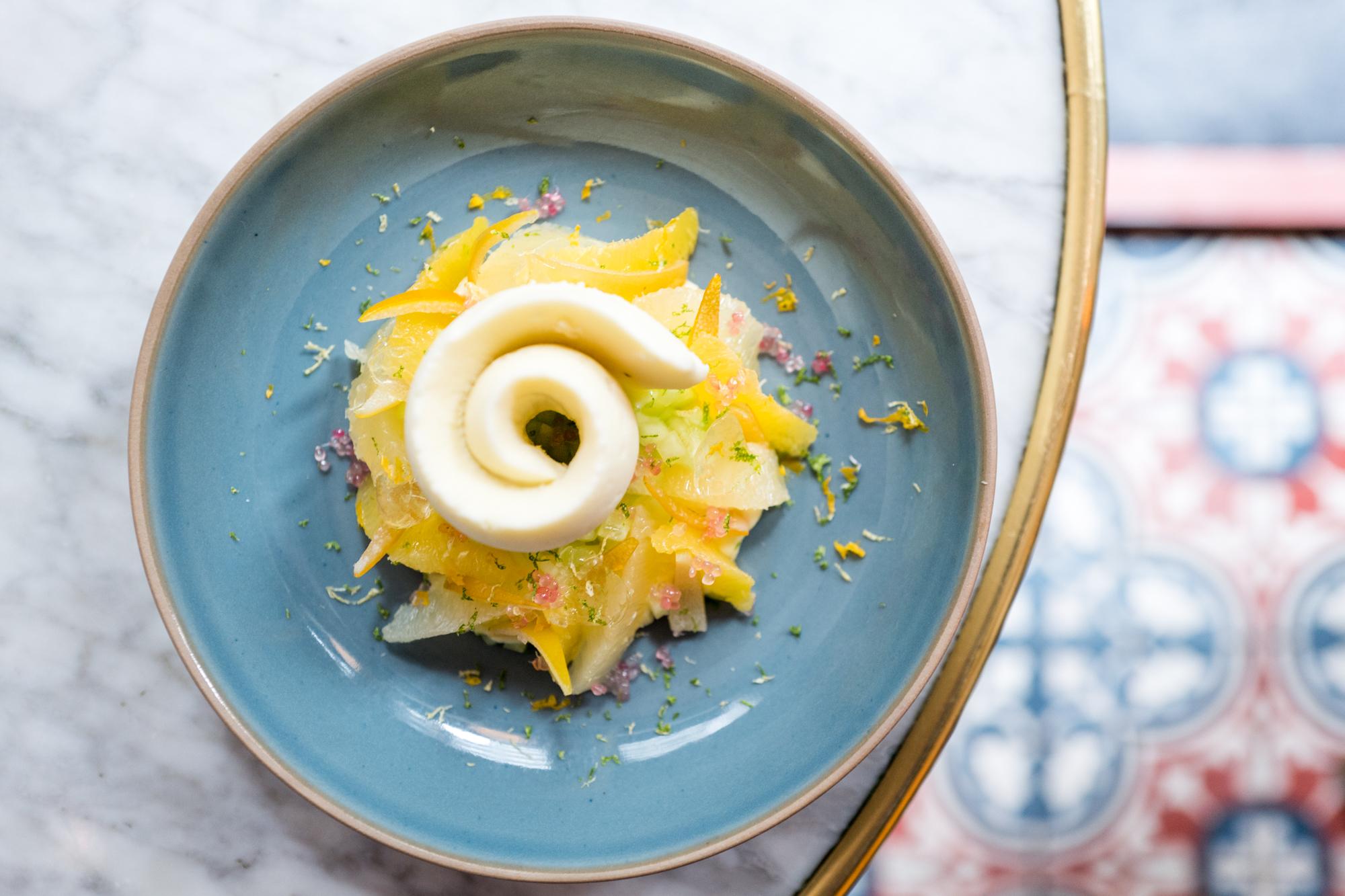 How Chef Thomas Padovani Makes Benoit's Sensational Lemon Curd Dessert