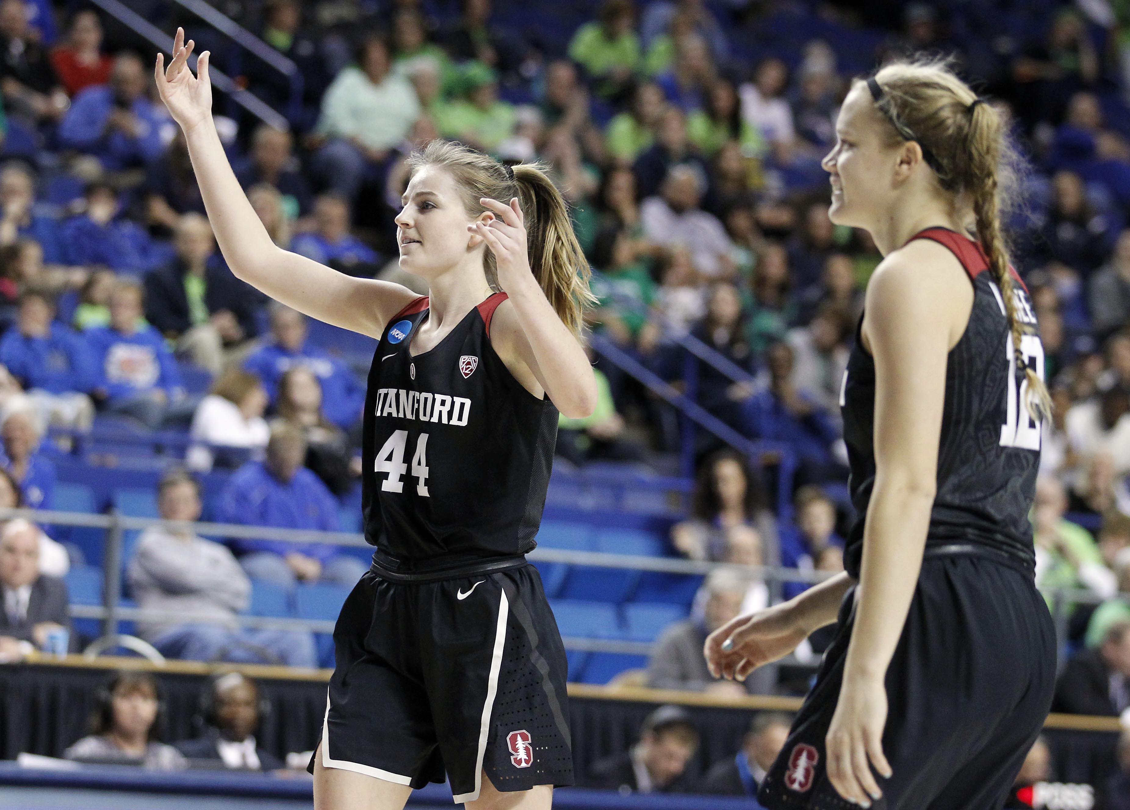 NCAA Womens Basketball: NCAA Tournament-Lexington Regional-Notre Dame vs Stanford