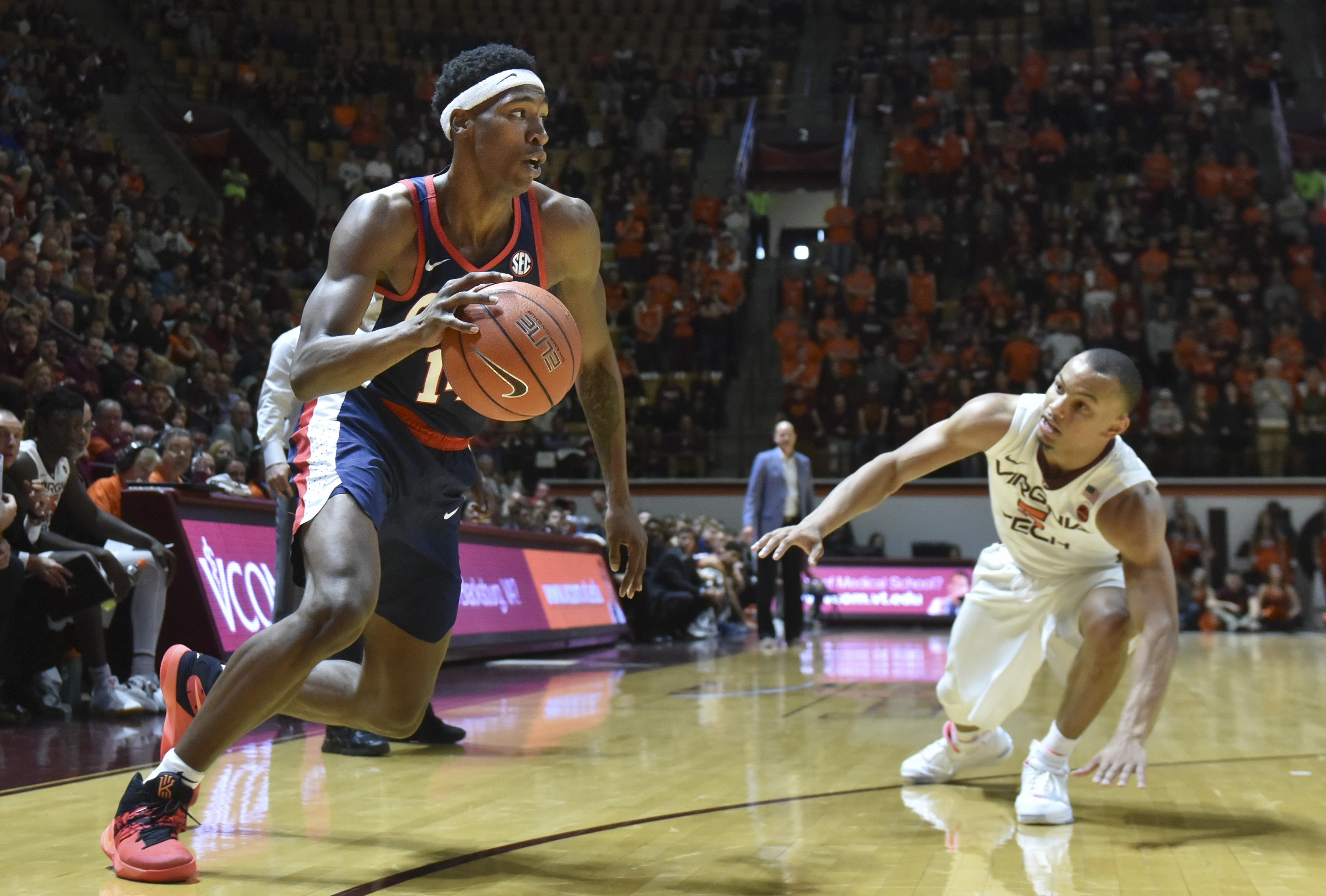 NCAA Basketball: Mississippi at Virginia Tech