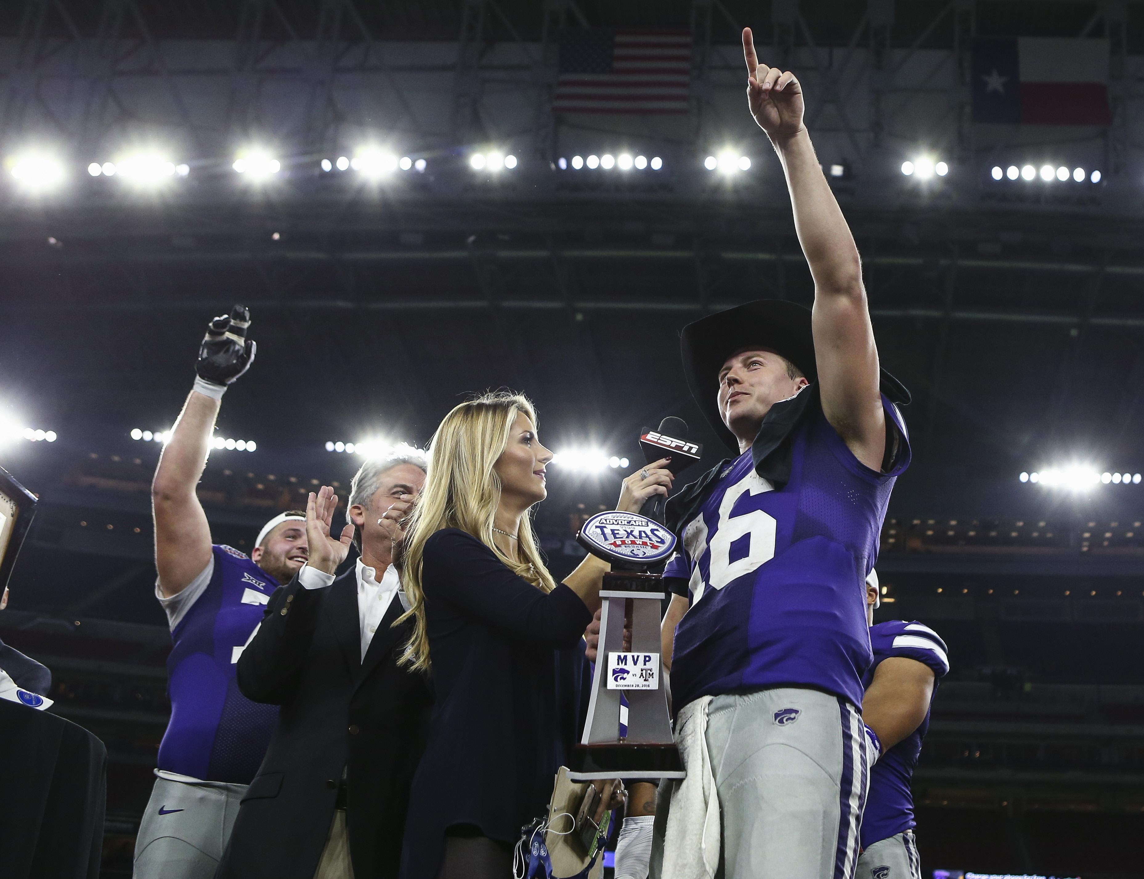 Jesse Ertz: Texas Bowl MVP