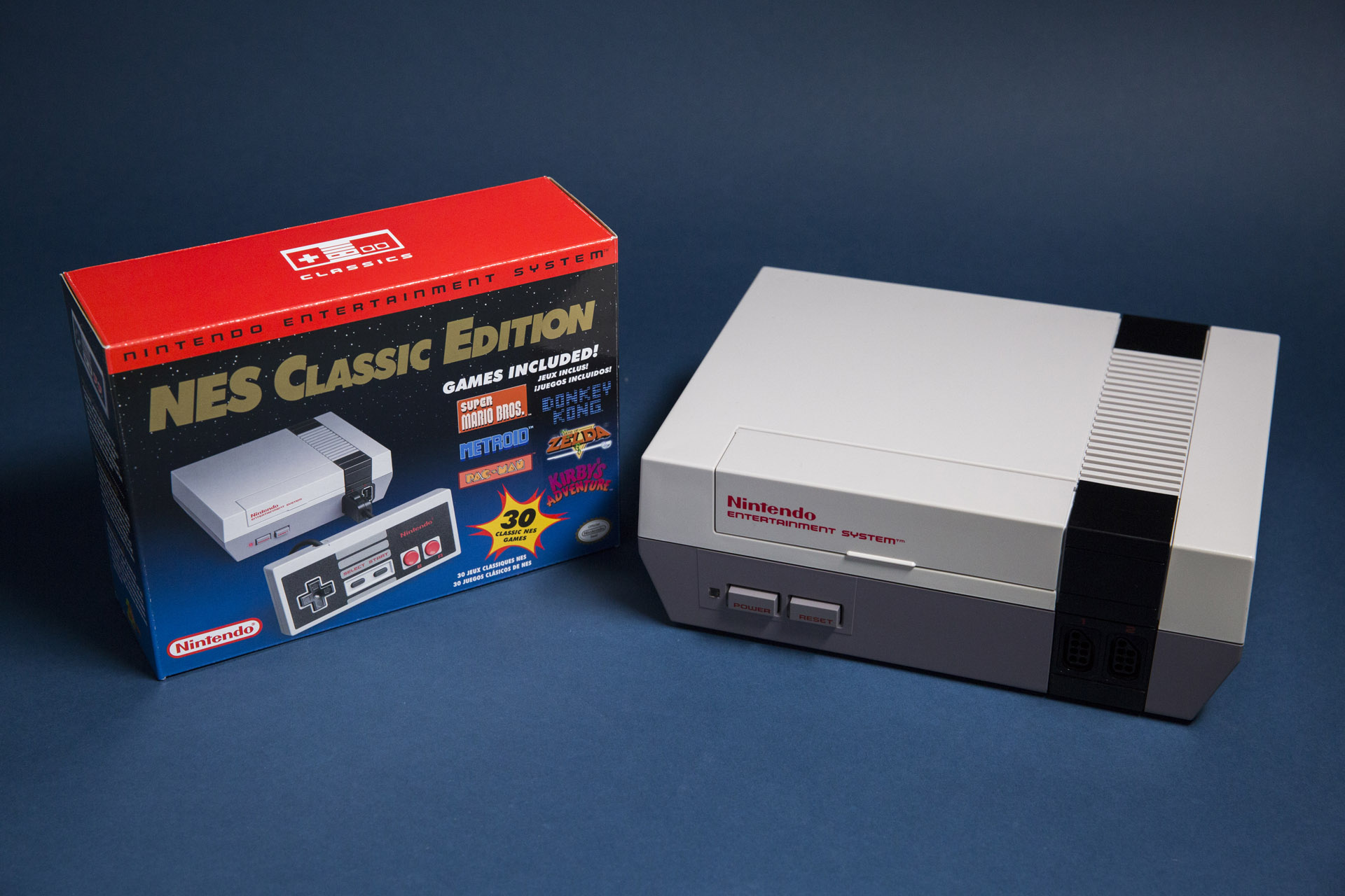 NES Classic Edition in stock at the Nintendo World Store in New York City today
