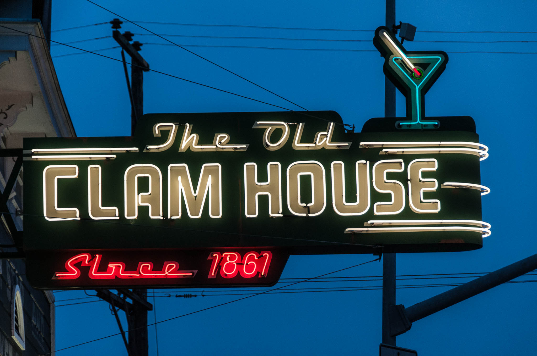 The Clam House in Bayview