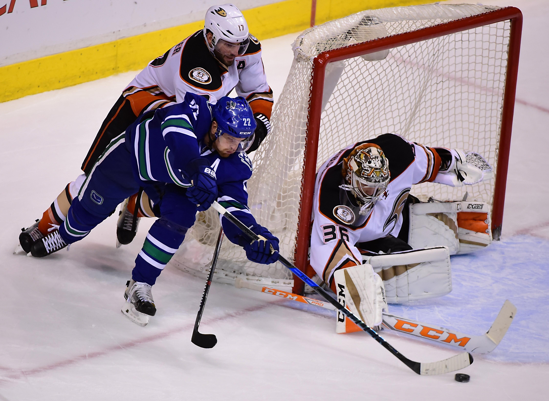 NHL: Anaheim Ducks at Vancouver Canucks