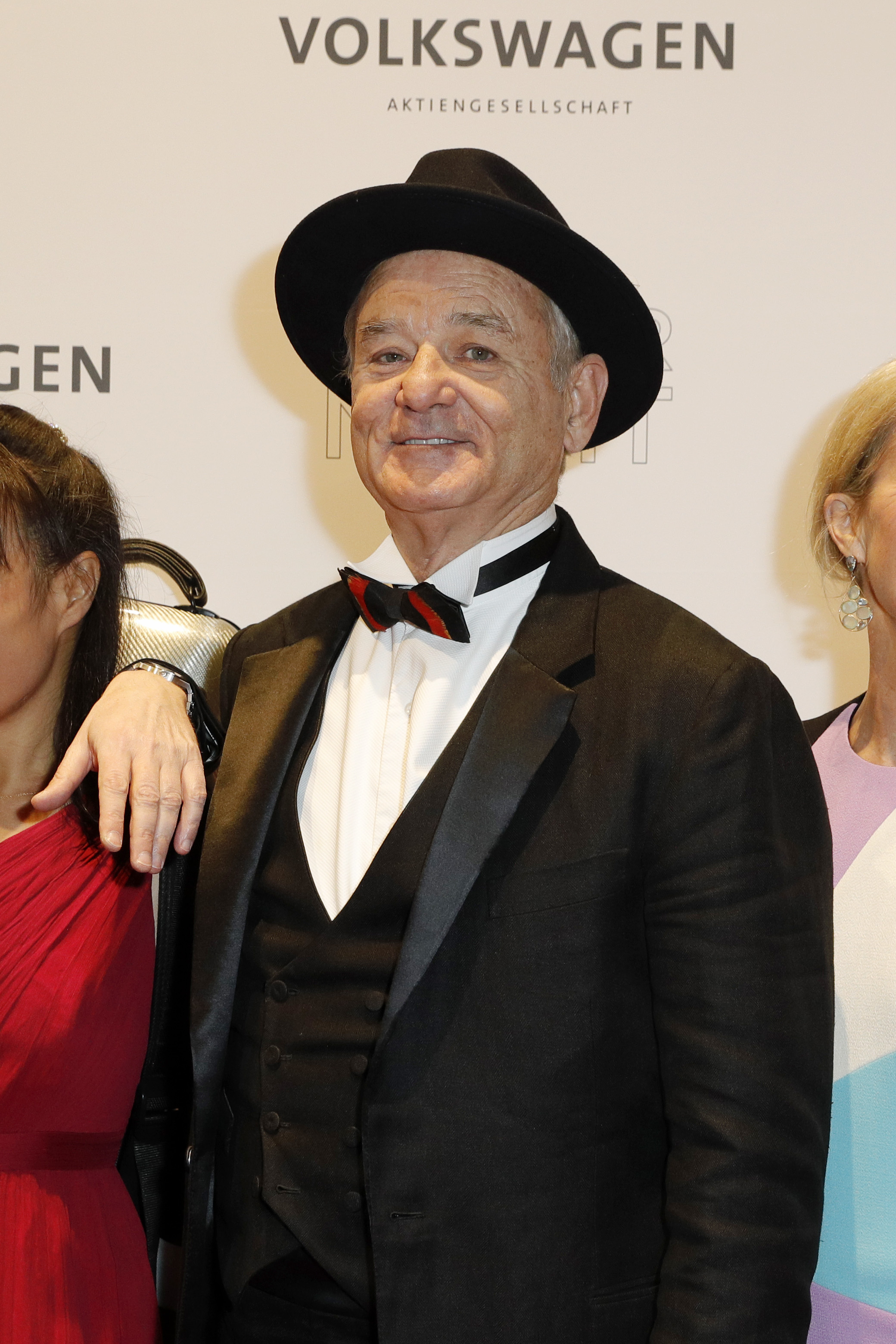 Bill Murray is pleased that we've finally put this horrible incident behind us.