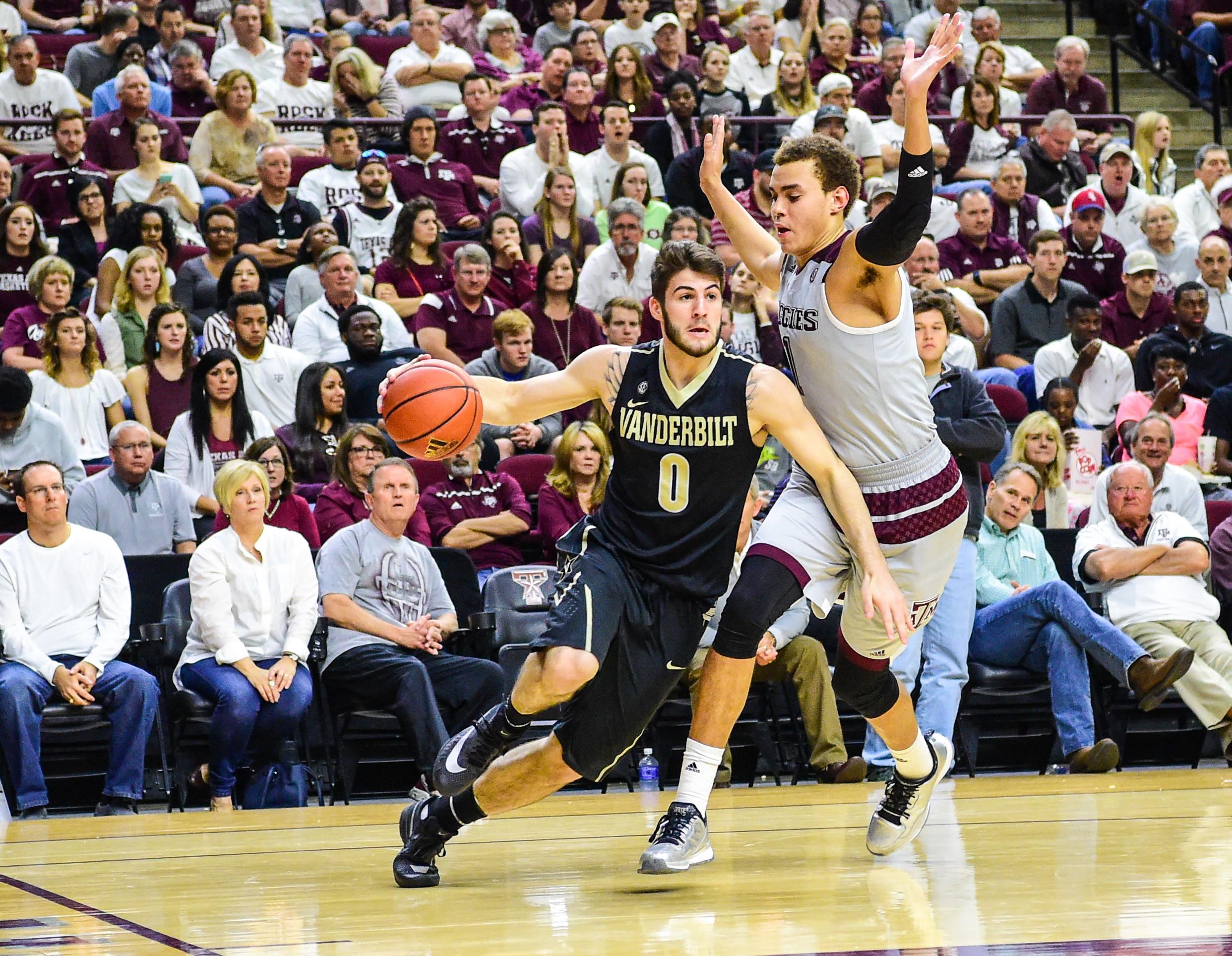 NCAA BASKETBALL: MAR 05 Vanderbilt at Texas A&M