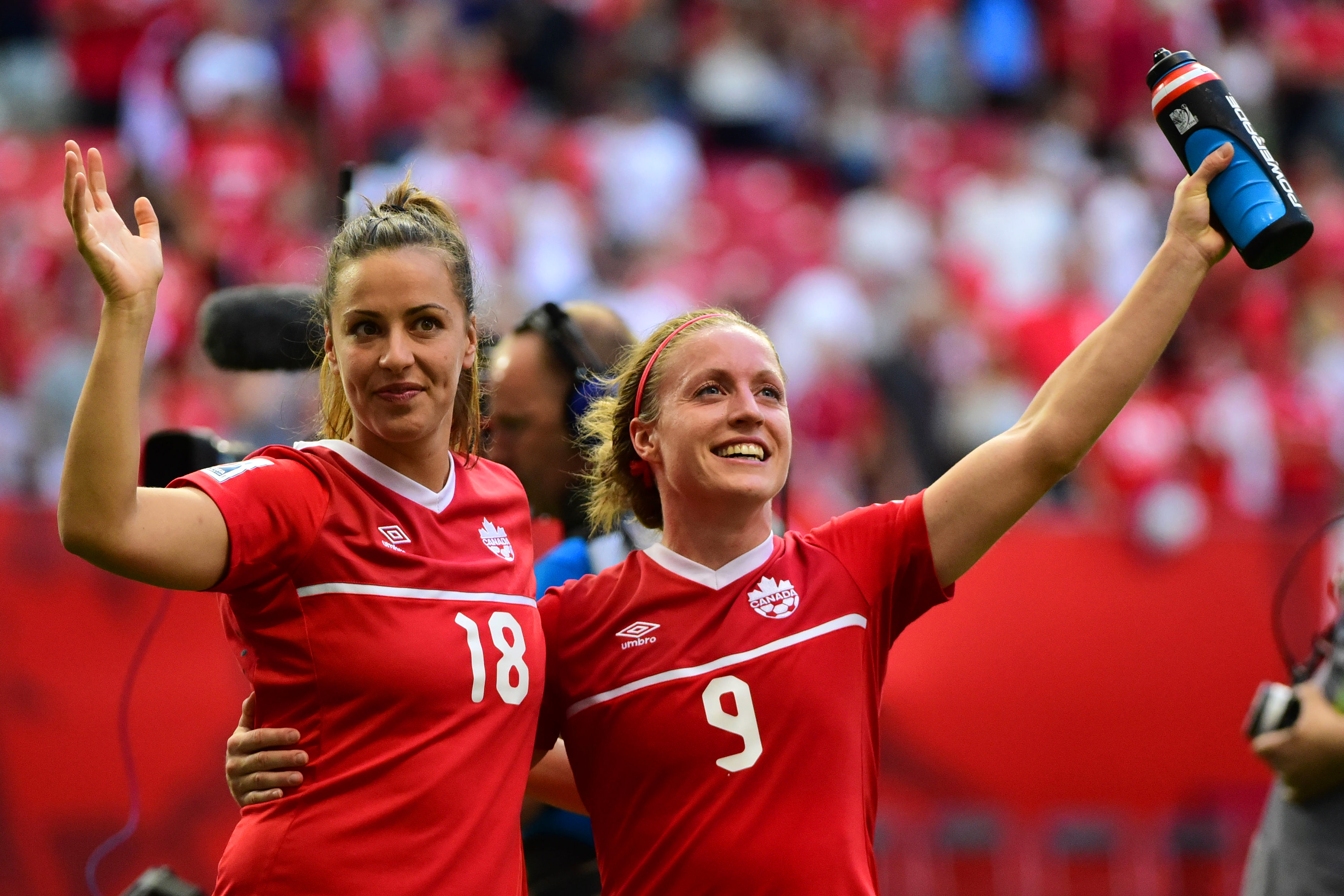 Soccer: Women's World Cup-Canada at Switzerland