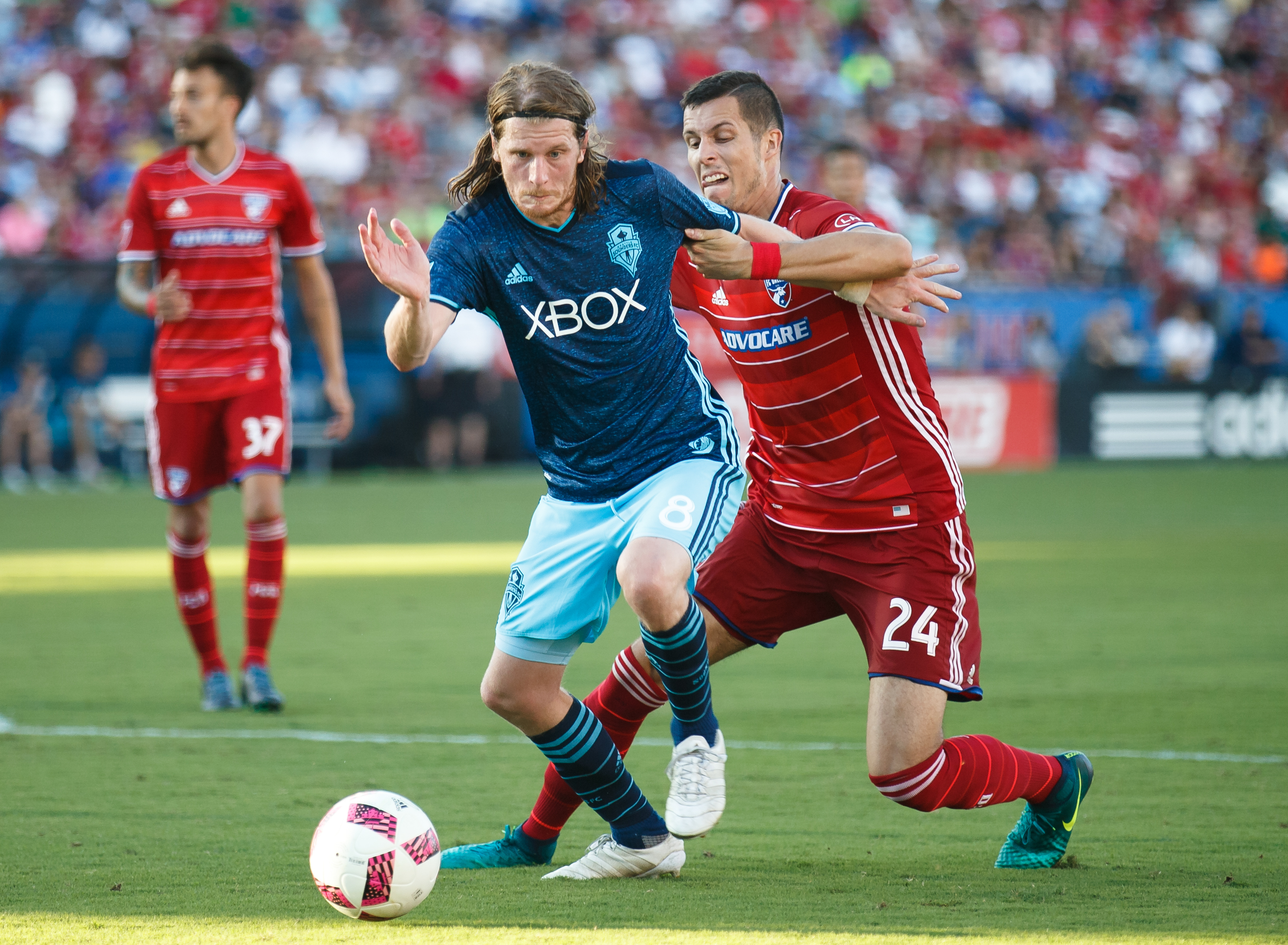 SOCCER: OCT 16 MLS - Sounders at FC Dallas