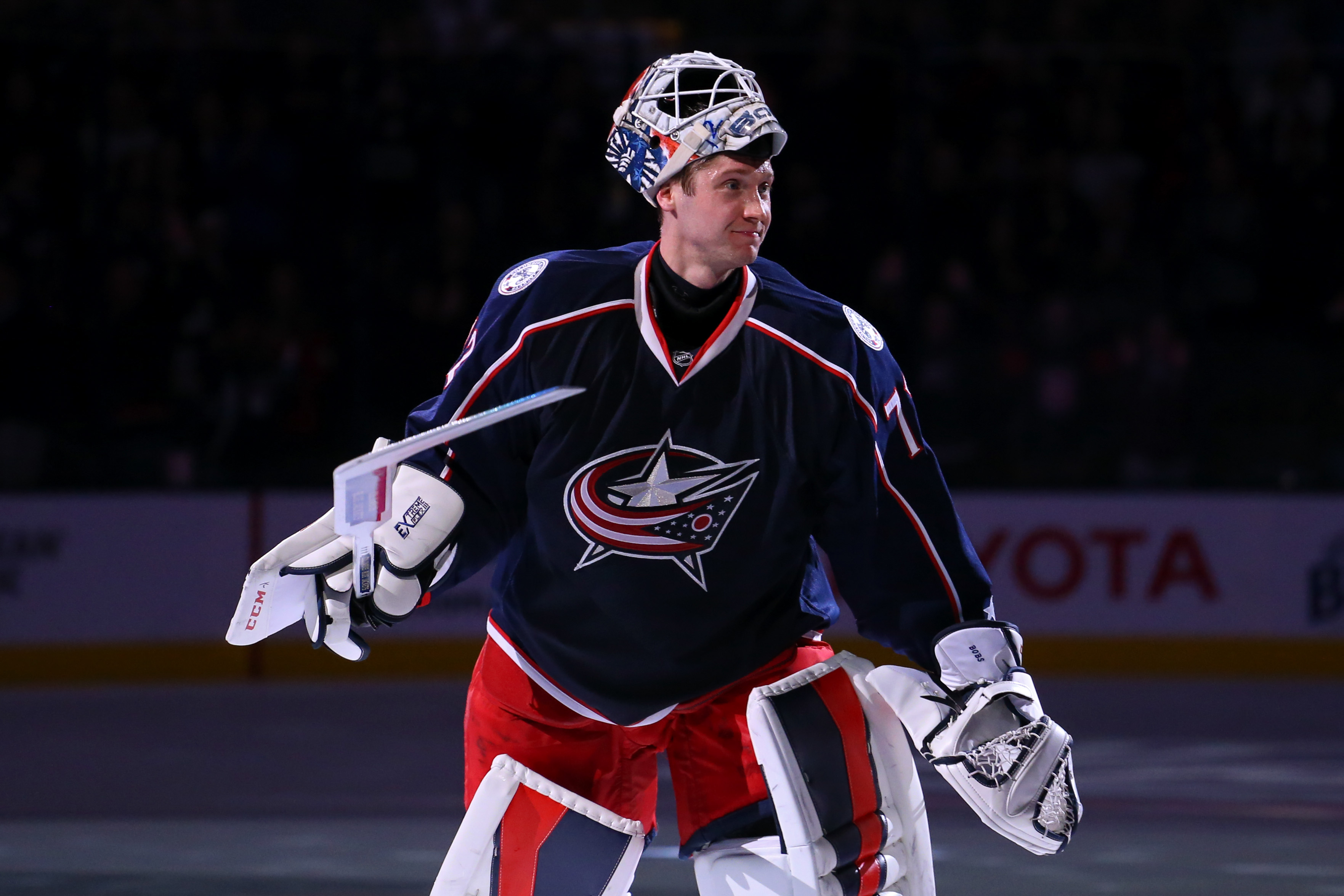 Bobrovsky:  Just about perfect this year.