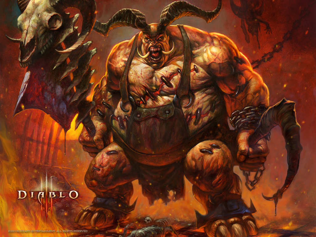 The Butcher, one of Diablo's most notorious monsters