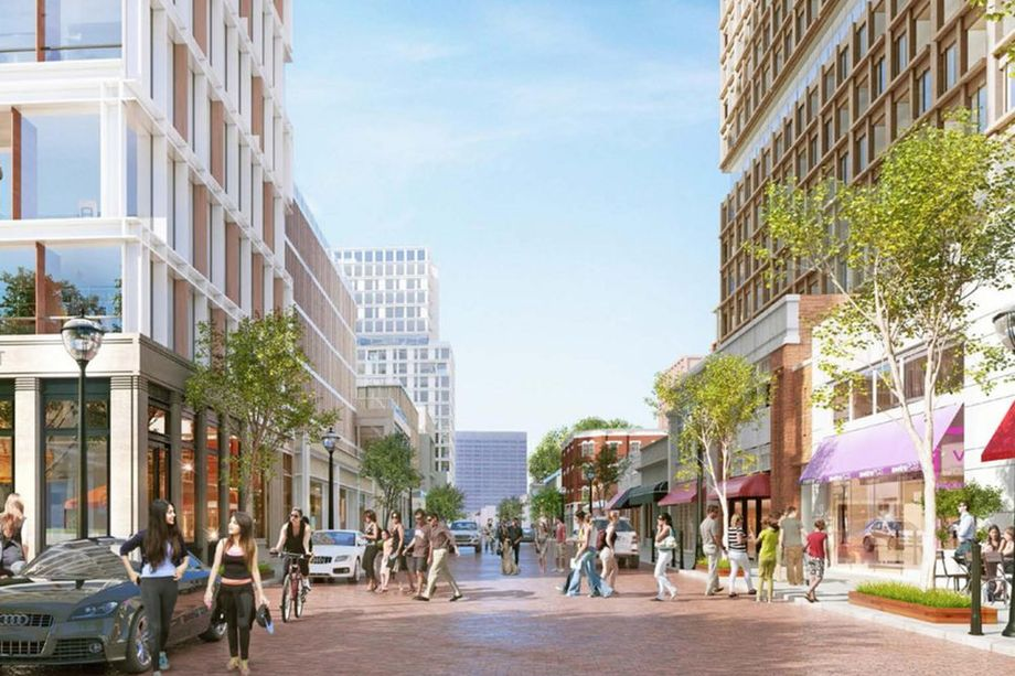 Renderings for the WRS vision for a reborn Underground Atlanta.