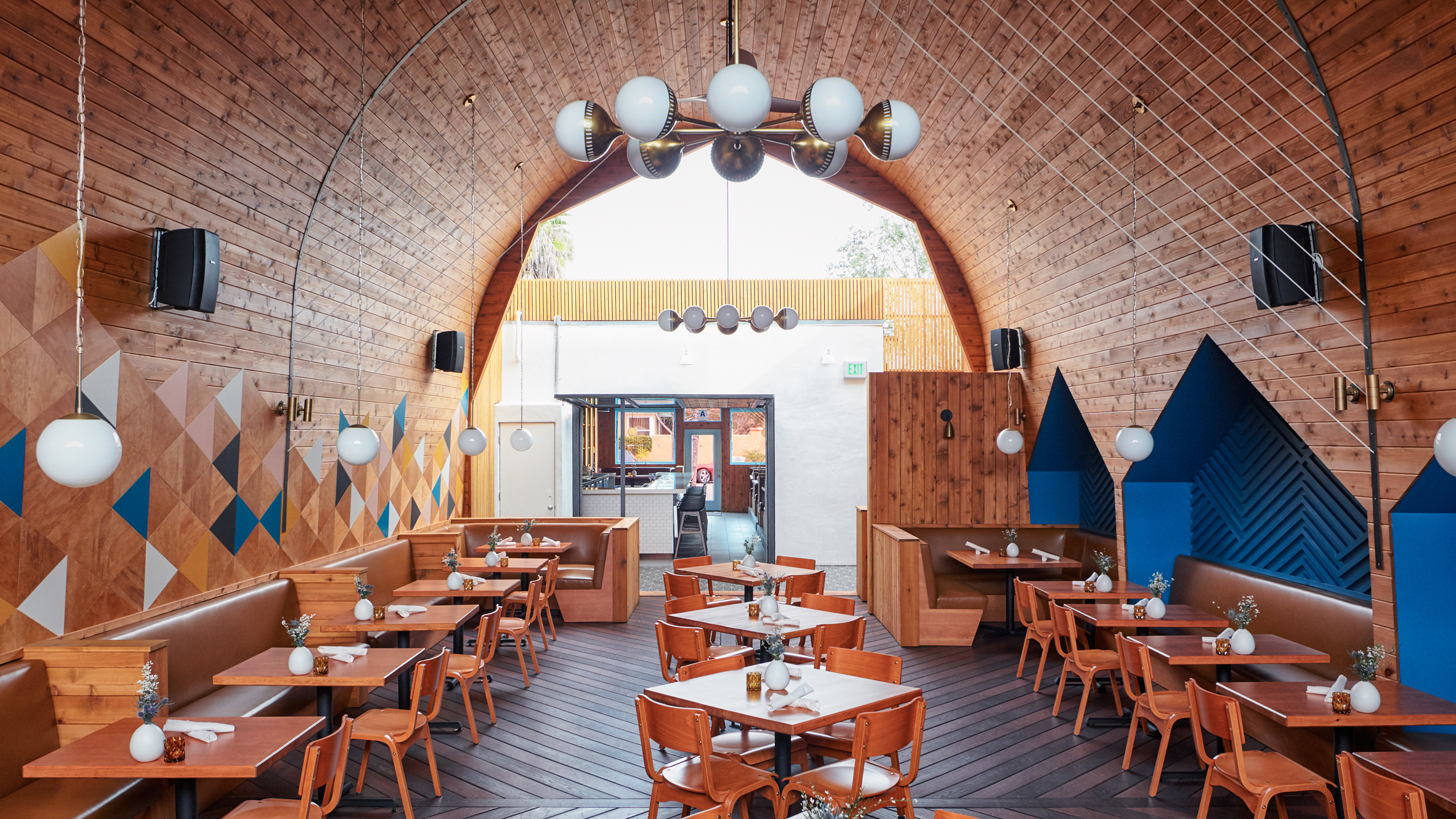Restaurant Carved From Former Nightclub Offers Japan And Nordic