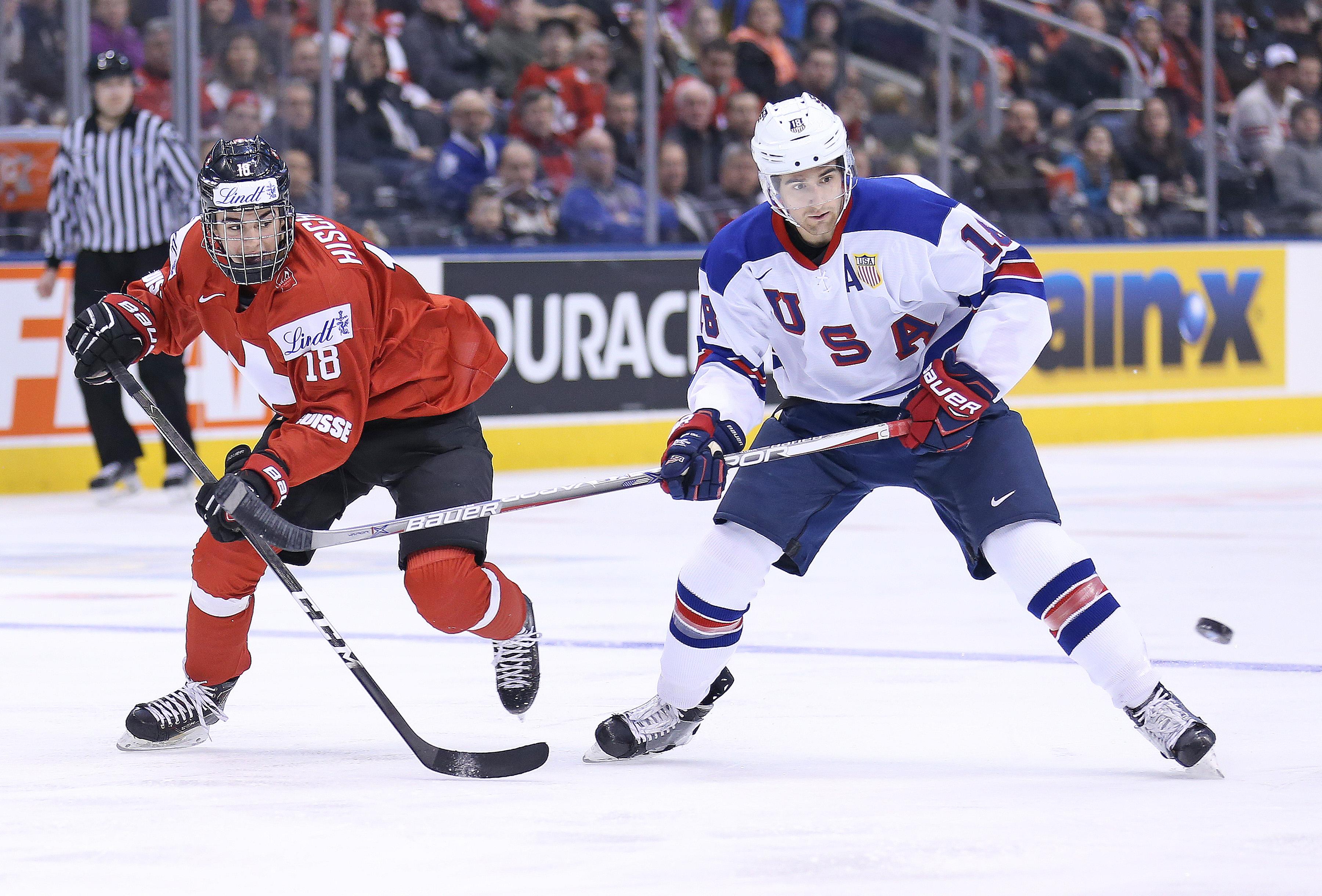 USA v Switzerland - 2017 IIHF World Junior Championships