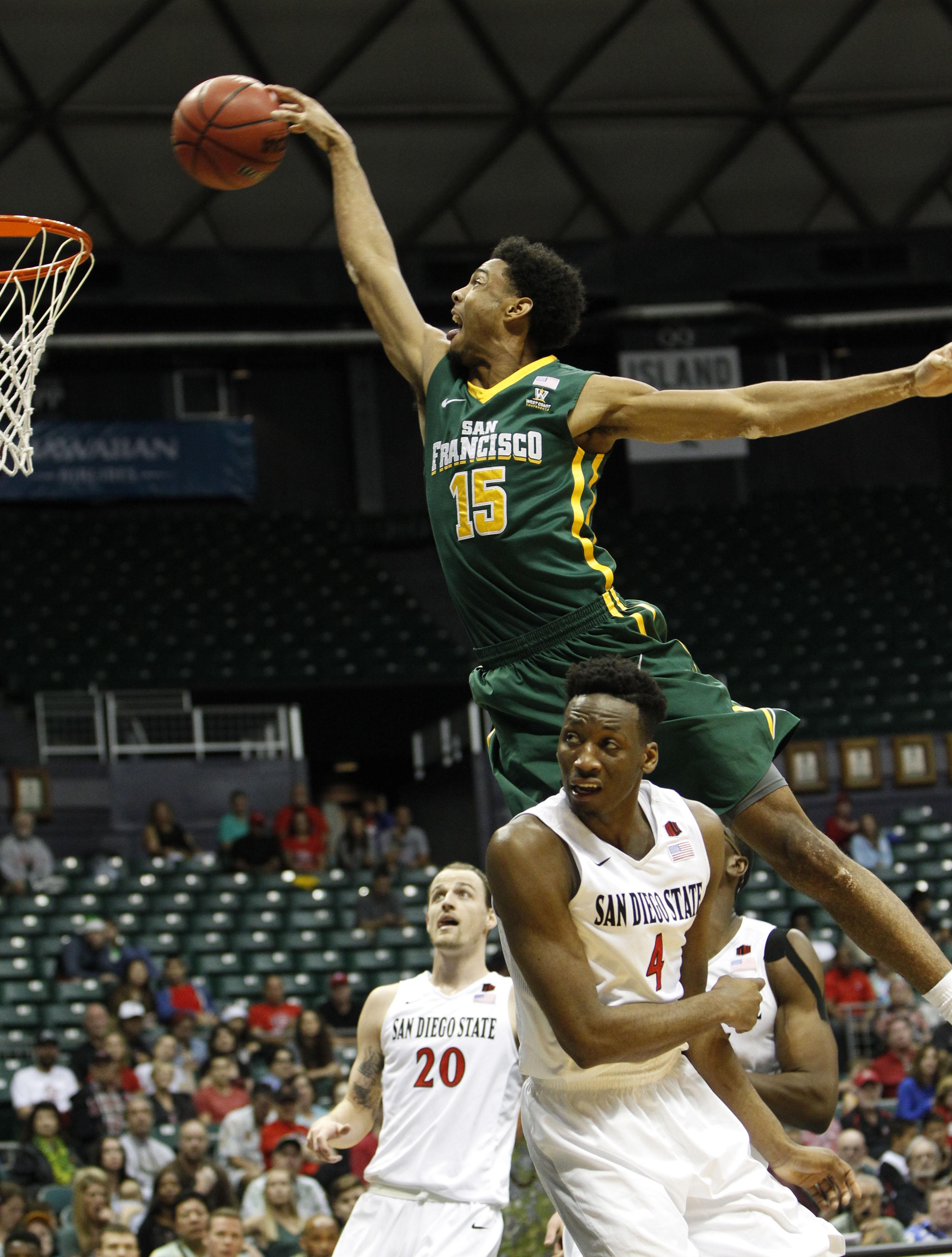 NCAA Basketball: San Francisco at San Diego State