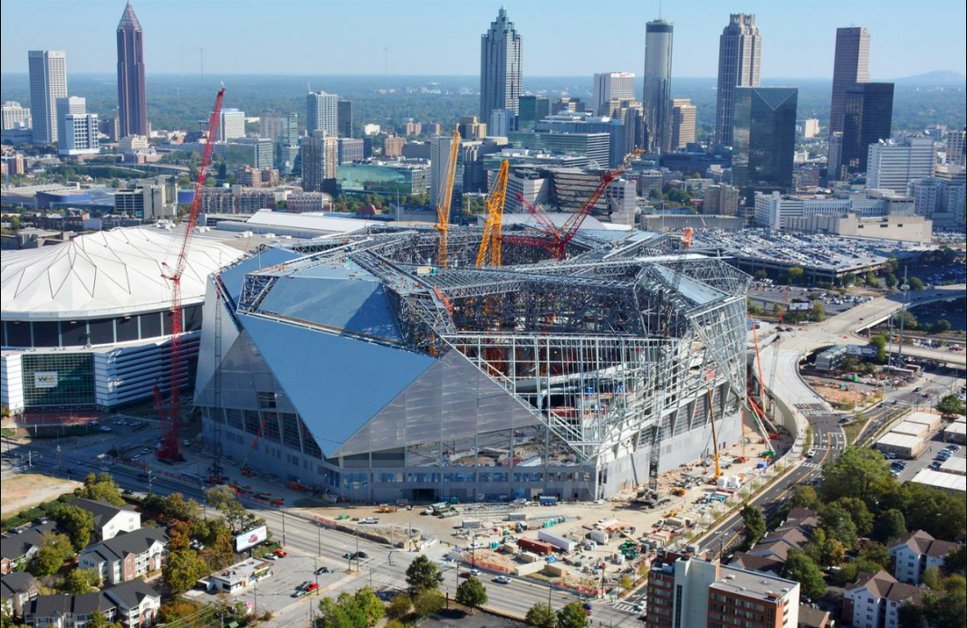Mercedes benz stadium curbed atlanta for Who owns mercedes benz stadium