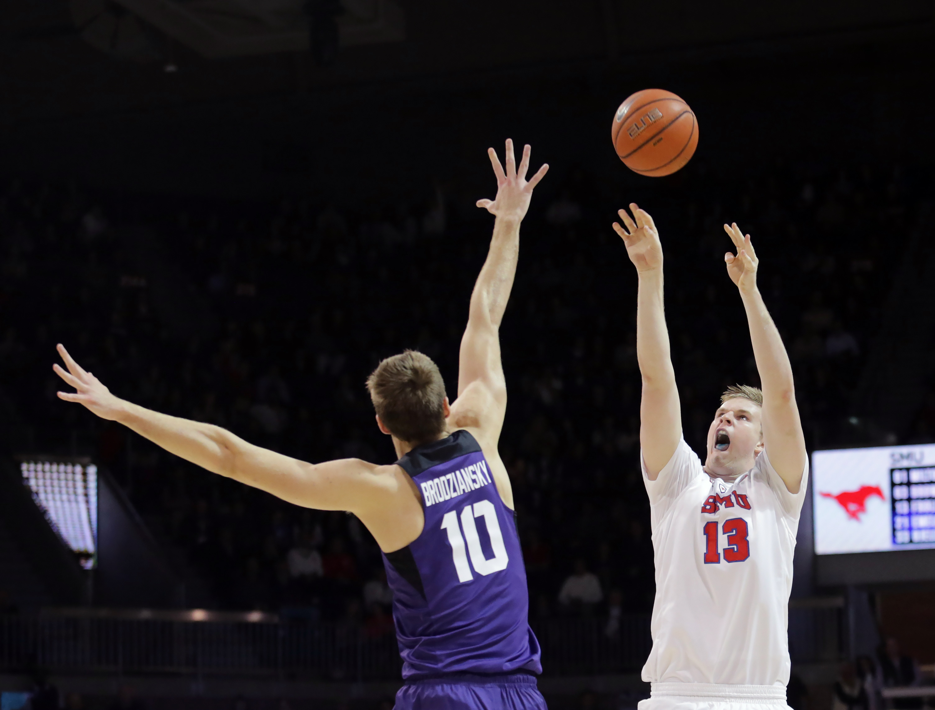 NCAA Basketball: Texas Christian at Southern Methodist