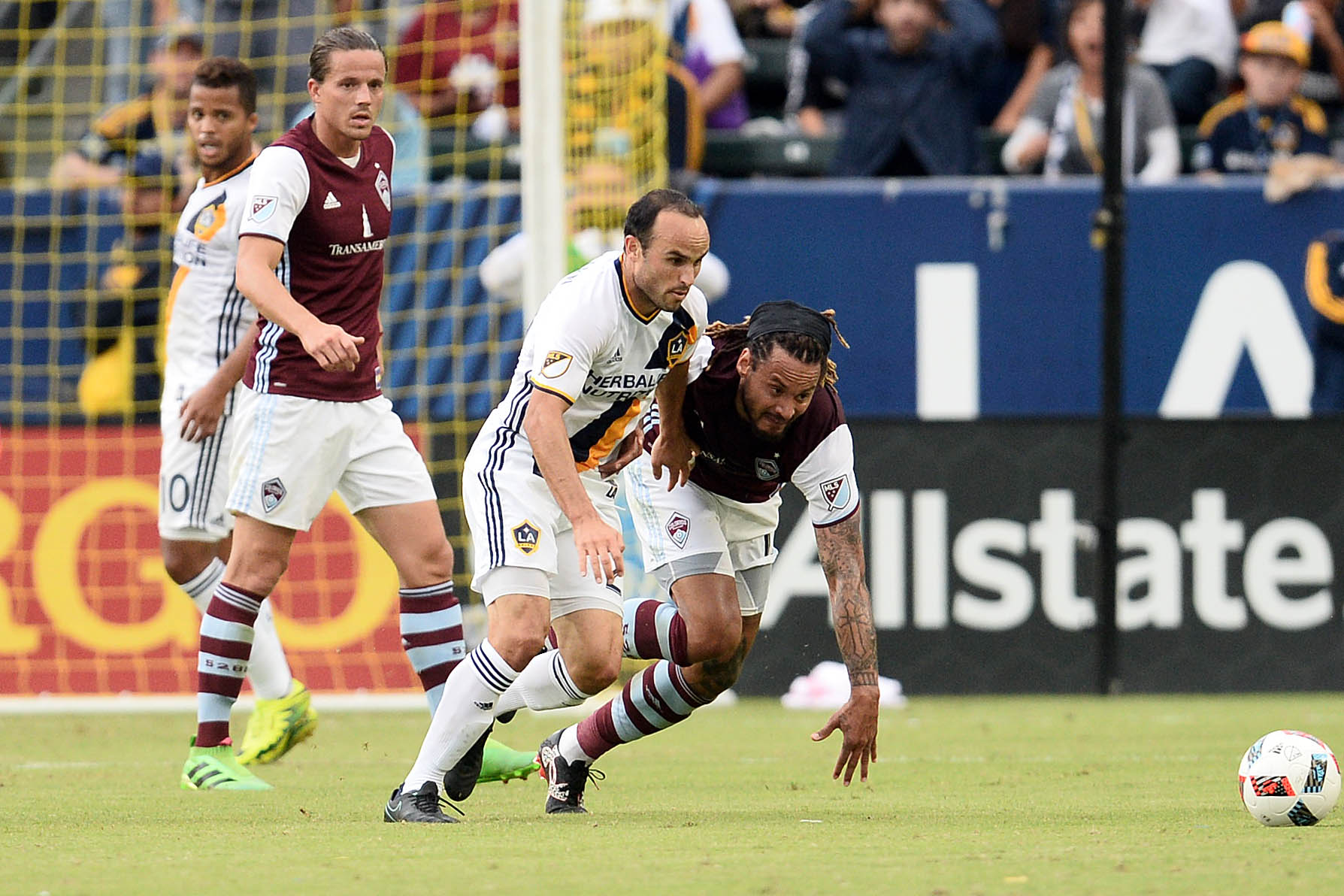 MLS: Conference Semifinals-Colorado Rapids at Los Angeles Galaxy