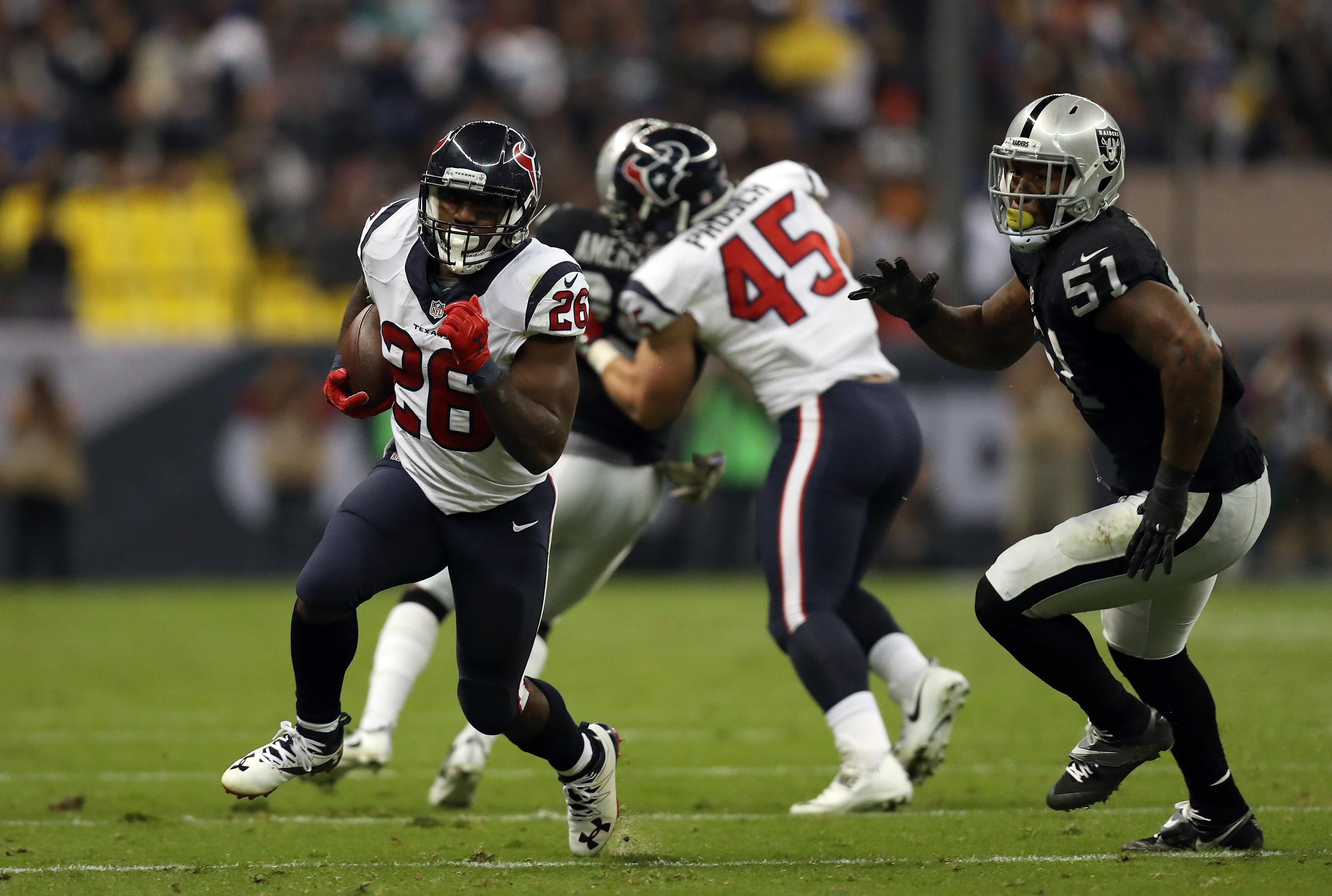 Houston Texans v Oakland Raiders