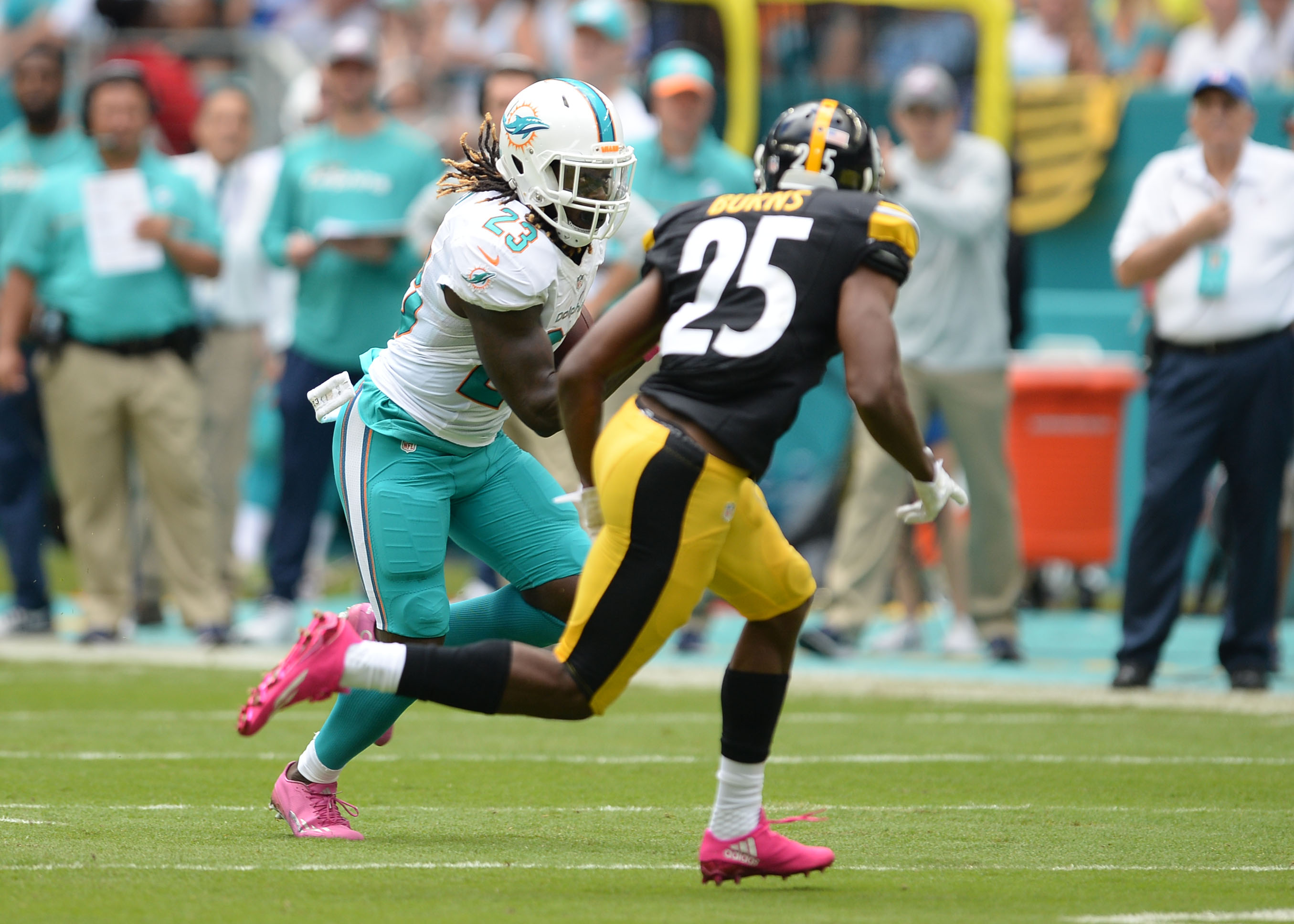 NFL: OCT 16 Steelers at Dolphins