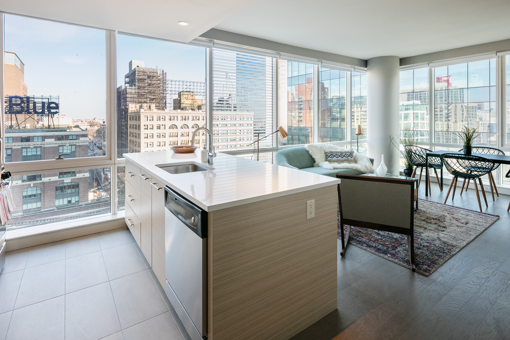 peek inside the rentals of queens s second tallest tower curbed ny