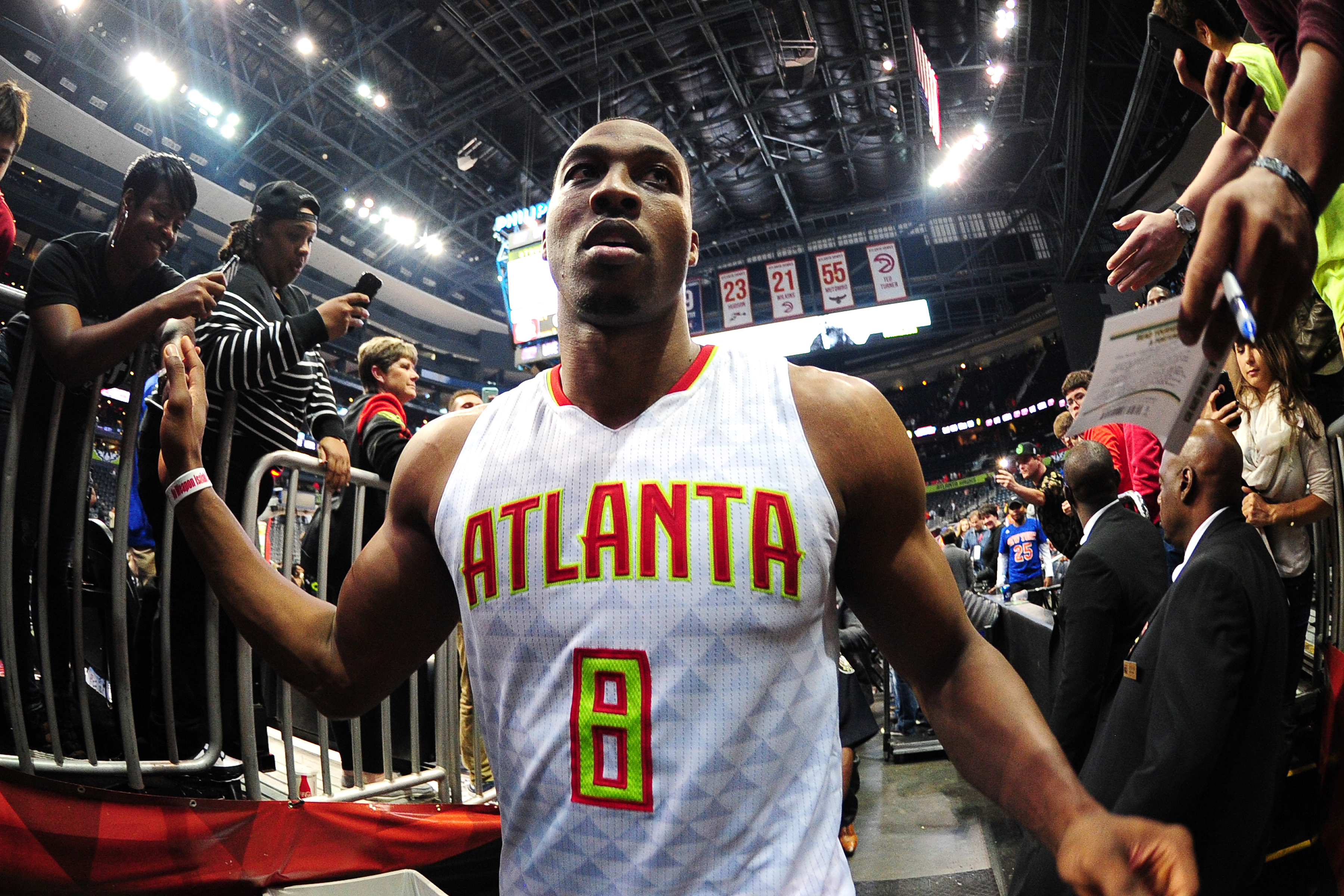 Dwight Howard hoped for stability in Atlanta, but the Hawks are crumbling around him