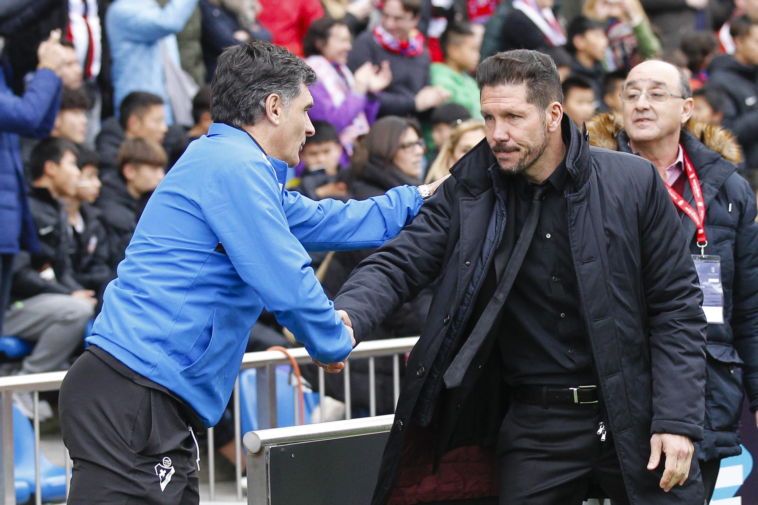 2016 La Liga Football Atletico Madrid v SD Eibar Feb 6th