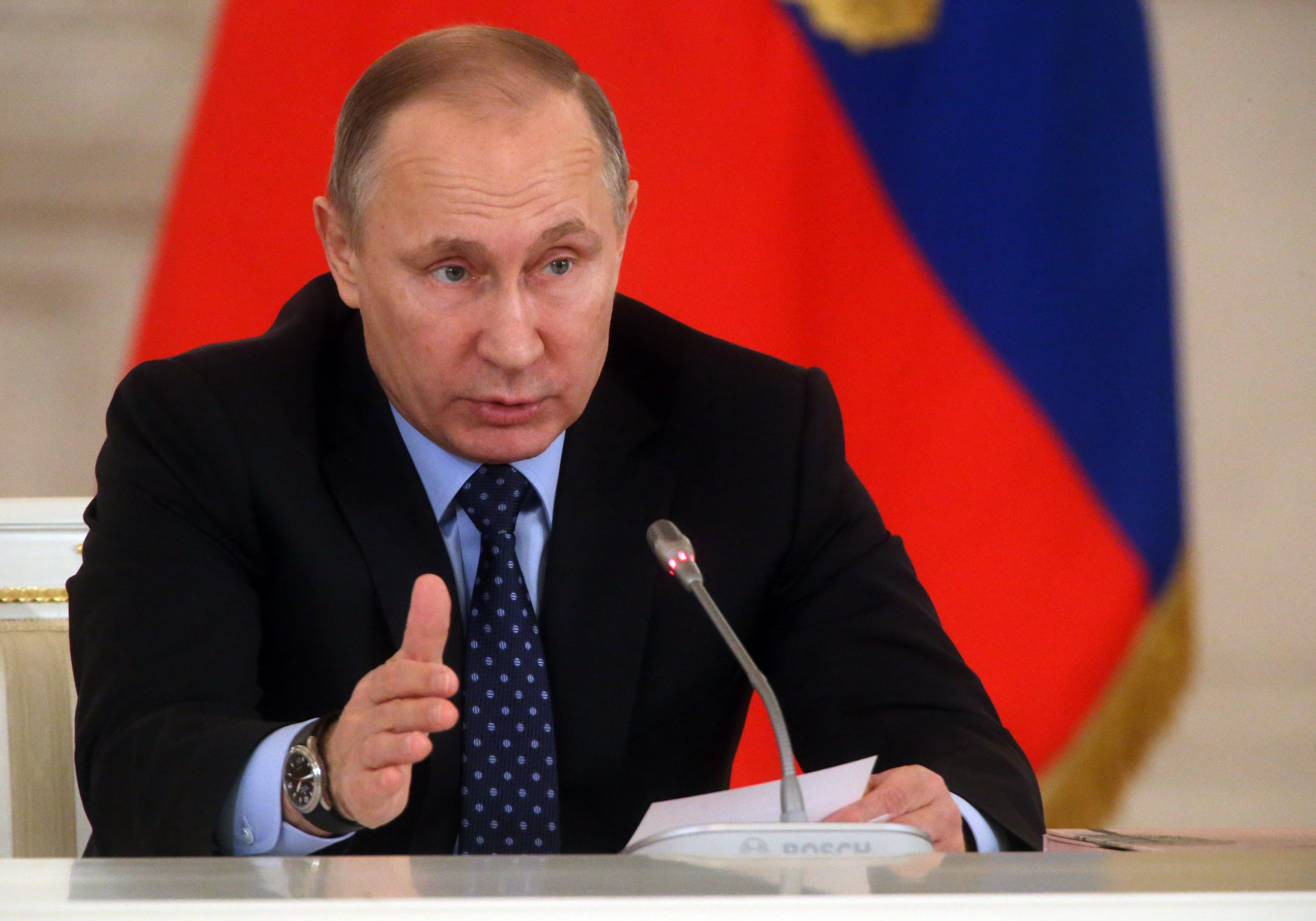 Russian President Vladimir Putin Holds State Council Meeting At Kremlin