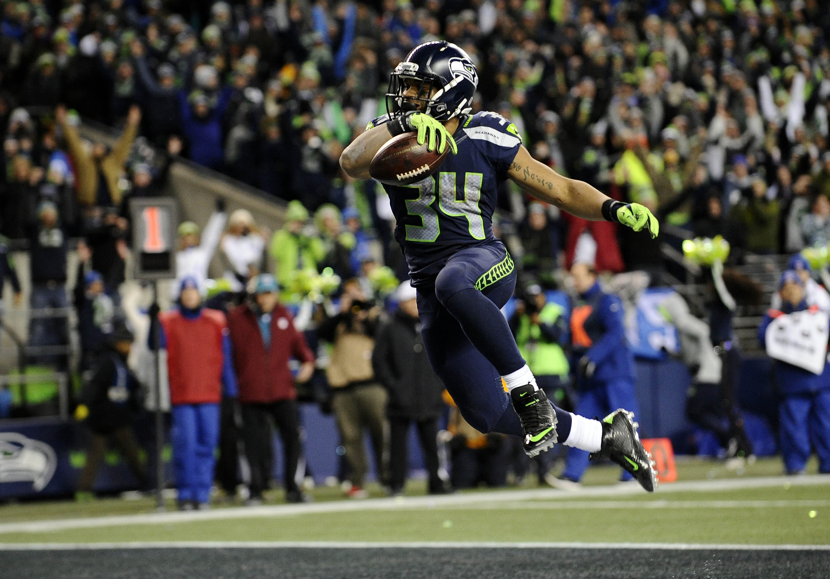 NFL: NFC Wild Card-Detroit Lions at Seattle Seahawks