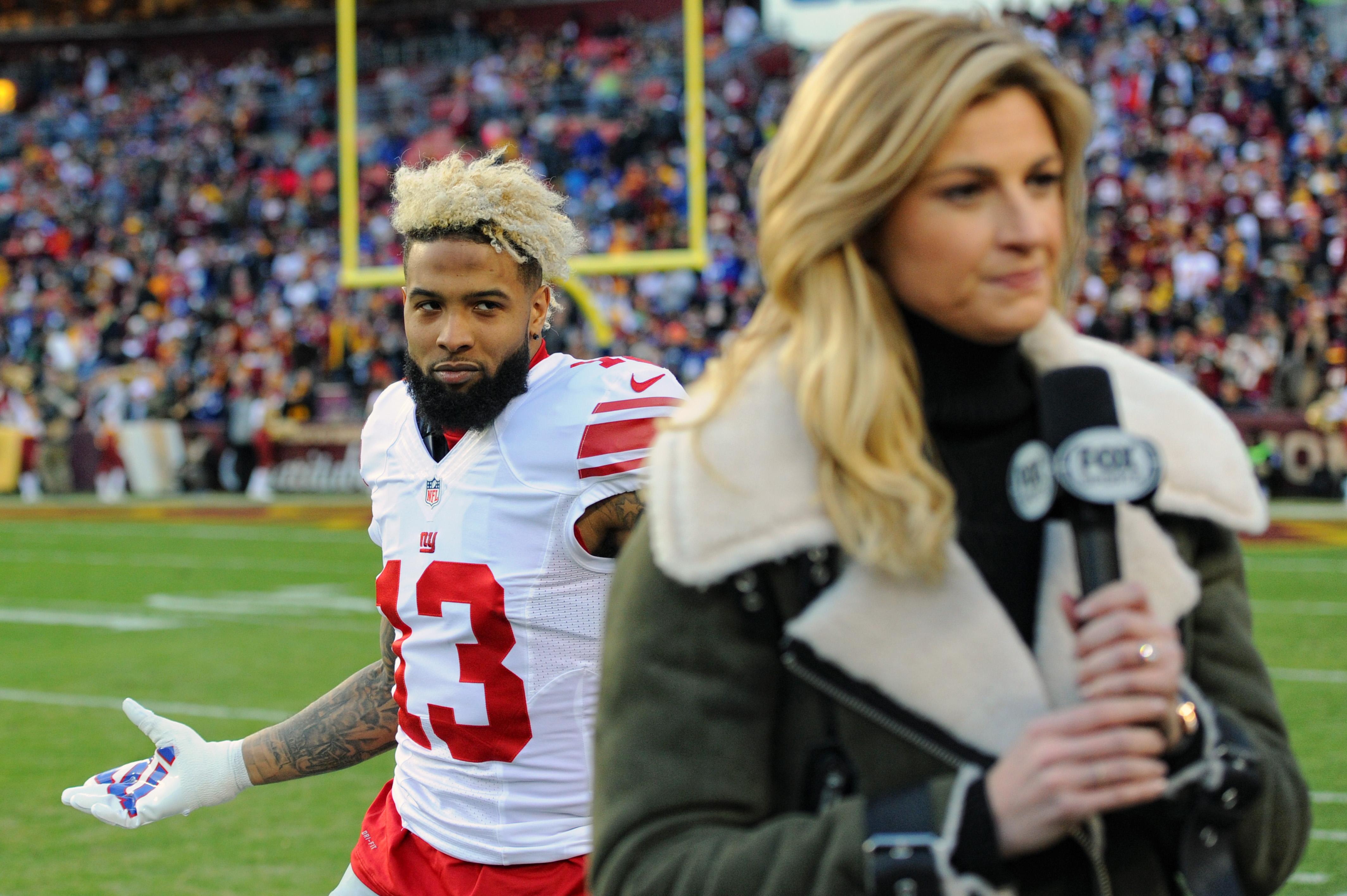New York Giants WR Odell Beckham