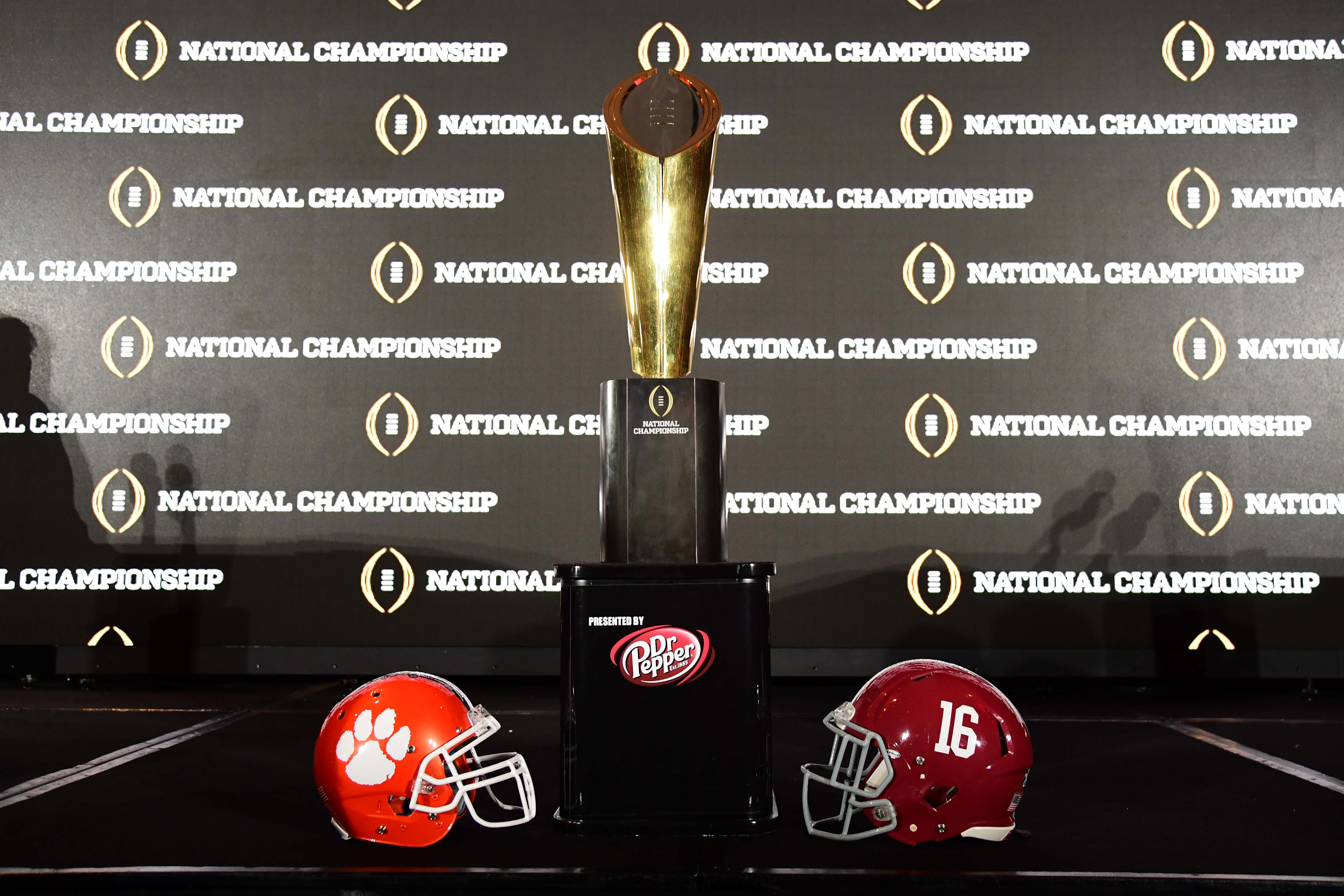 NCAA Football: CFP National Championship-Head Coaches News Conference