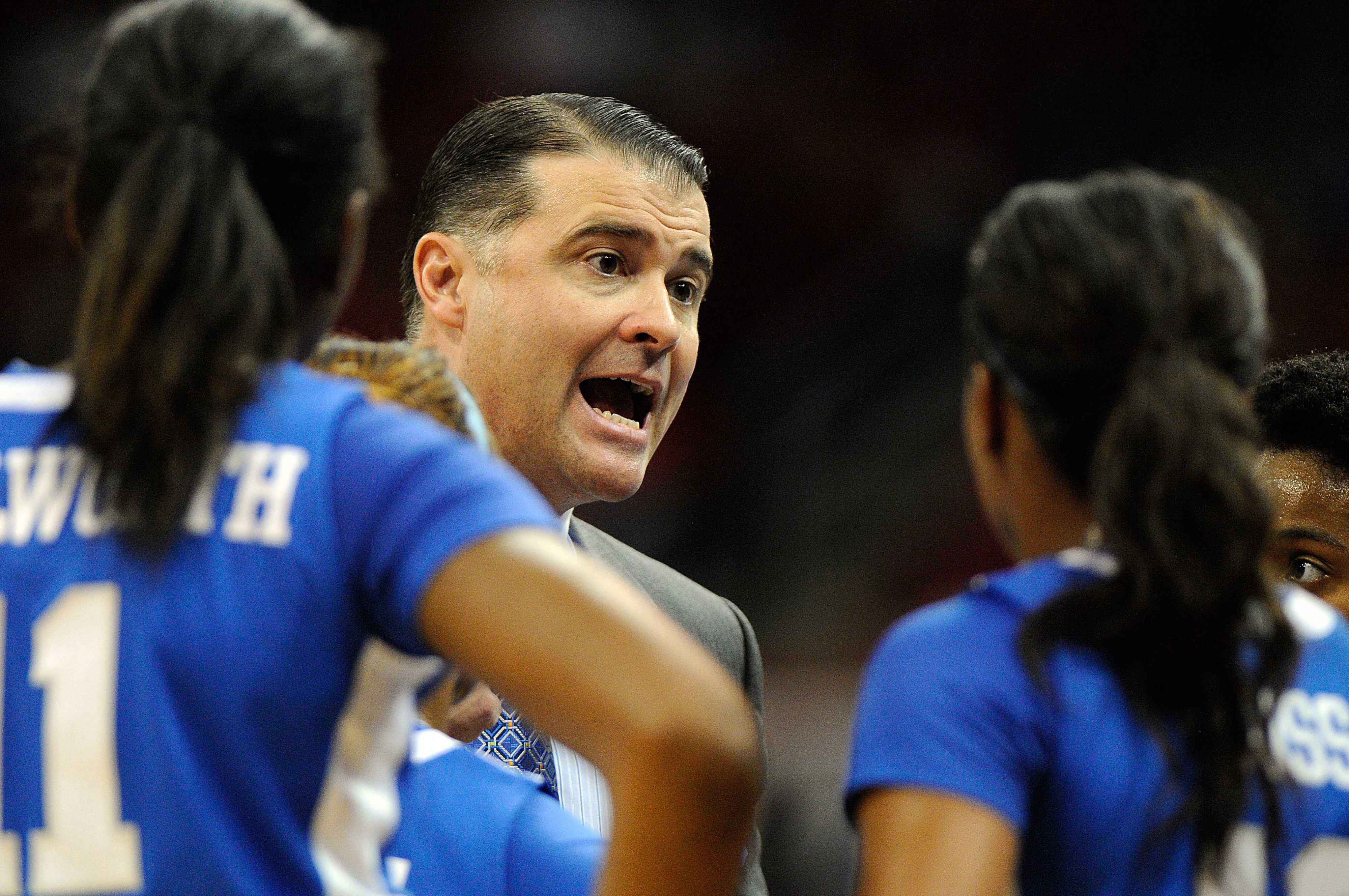 Matthew Mitchell and the women's hoops squad are on a road trip to California.