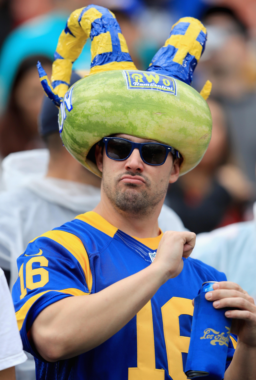 Los Angeles Rams fan