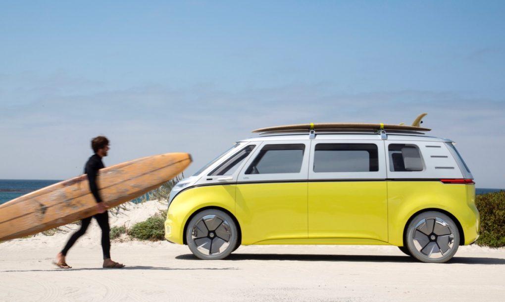Volkswagen is making an electric, autonomous version of its classic minibus