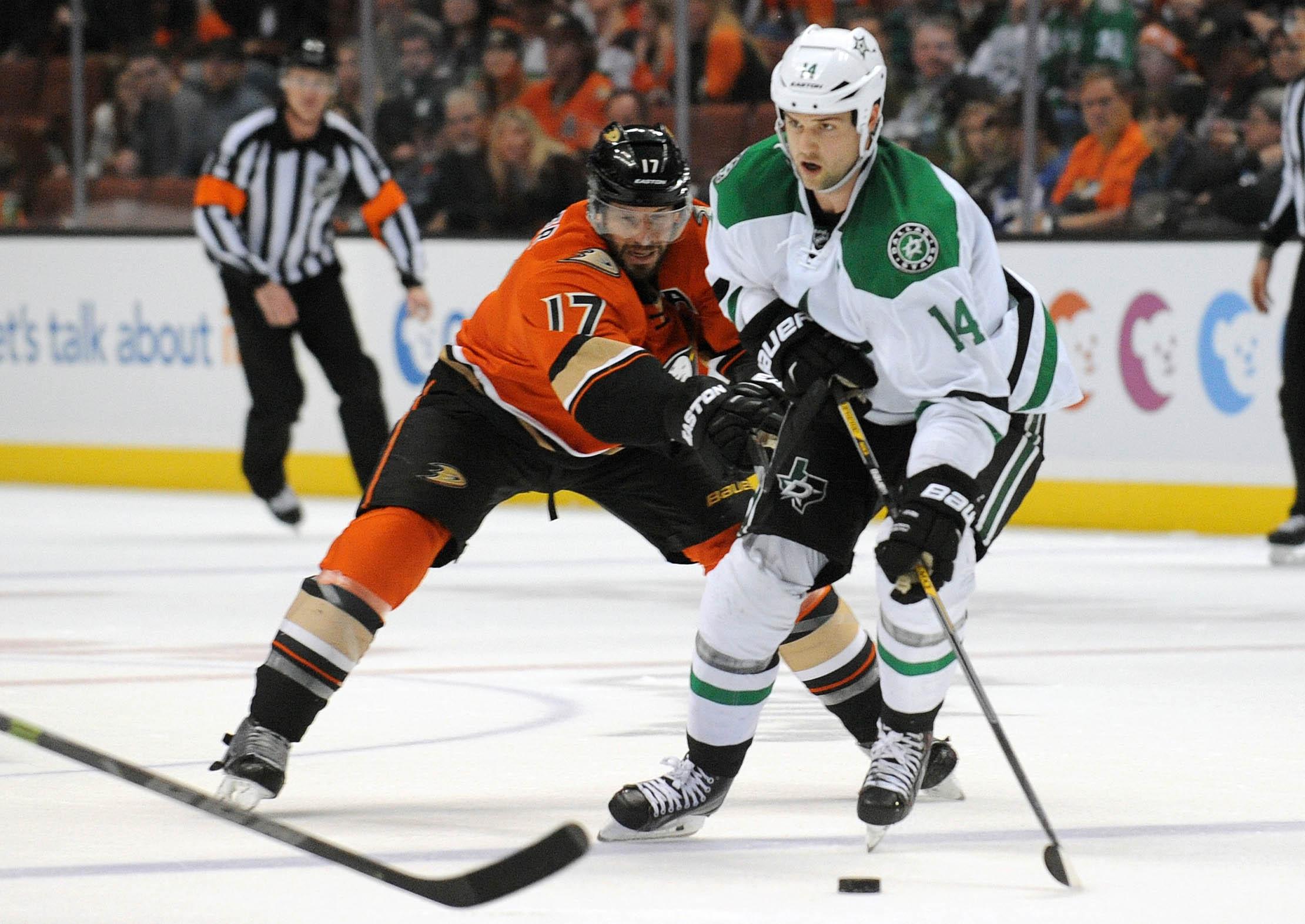 NHL: Dallas Stars at Anaheim Ducks