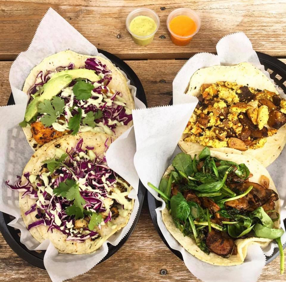 Vegan Nom's vegan tacos