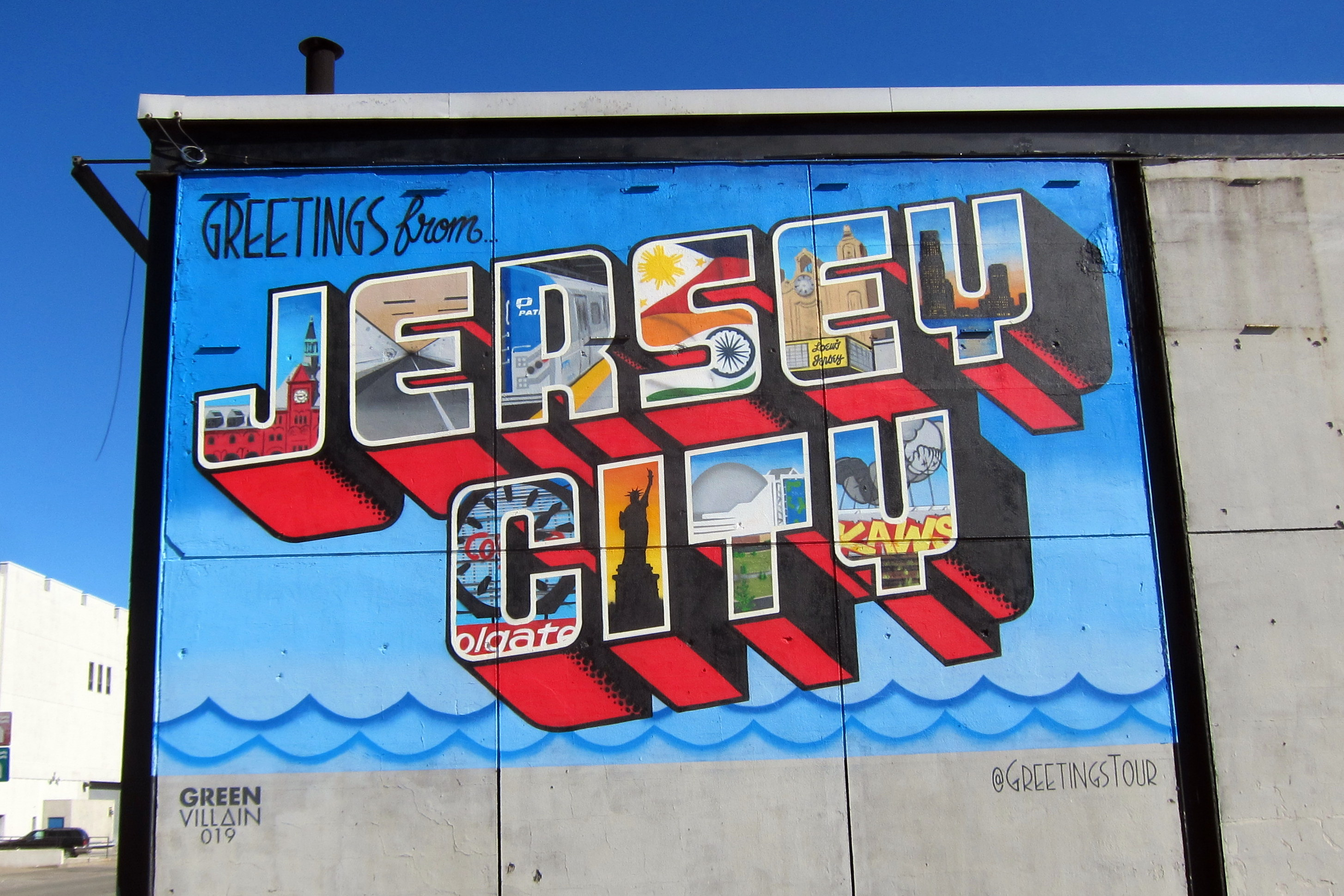 Graffiti art jersey city - Jersey City Is Booming But Gentrification Fears Loom Large