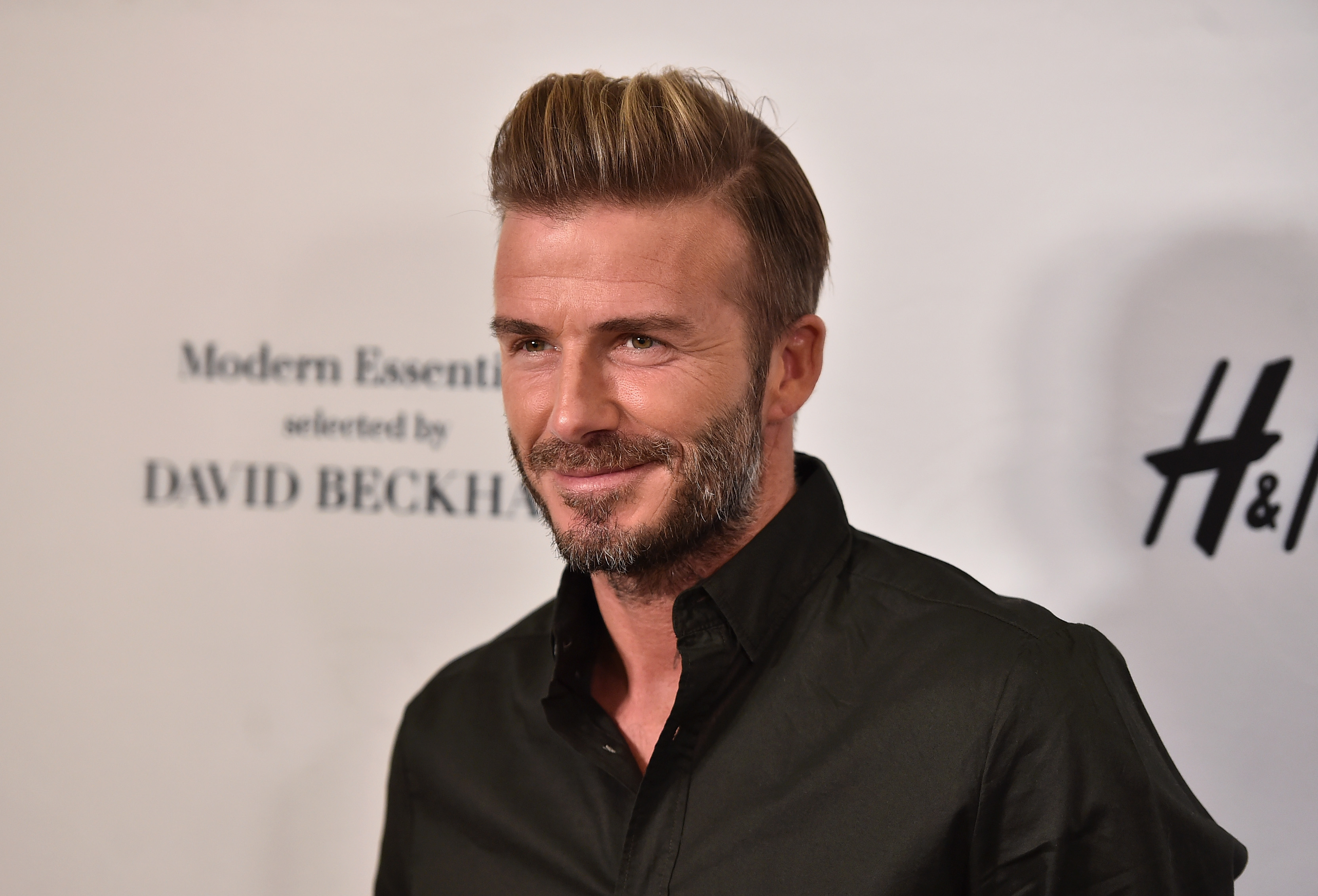 David Beckham Launches New H&M Modern Essentials Campaign